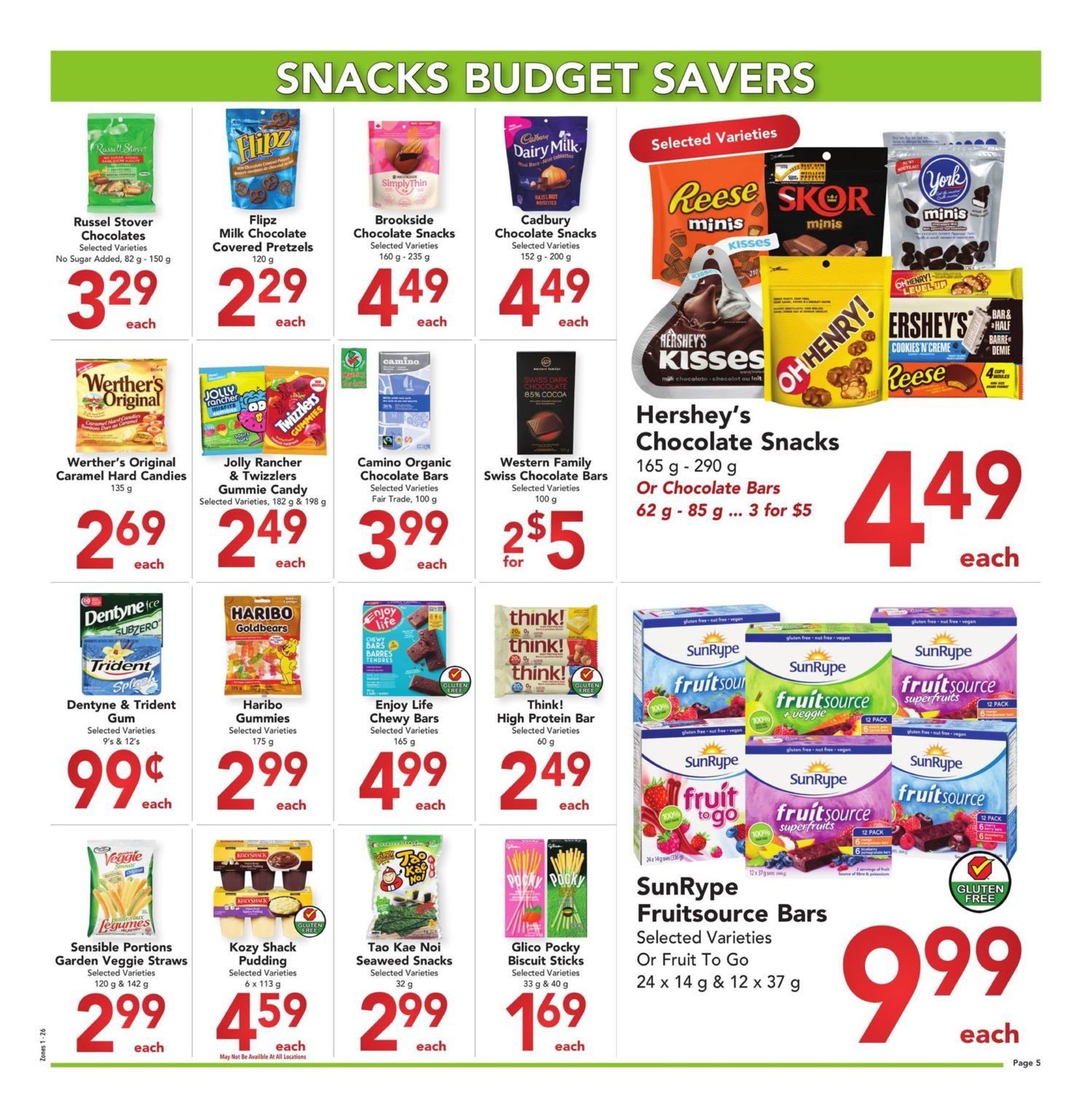 Buy-Low Foods - Budget Savers - Page 5