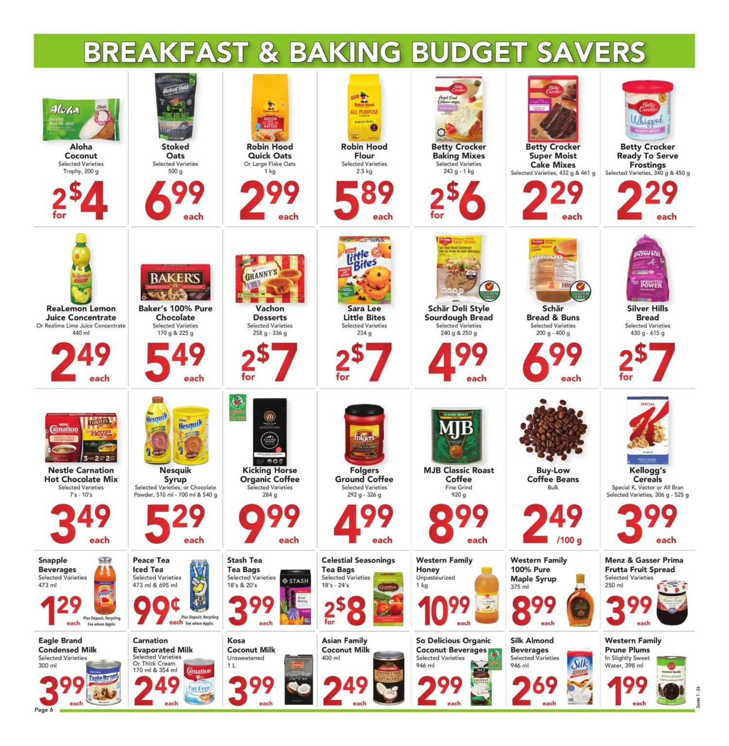 Buy-Low Foods - Budget Savers - Page 6