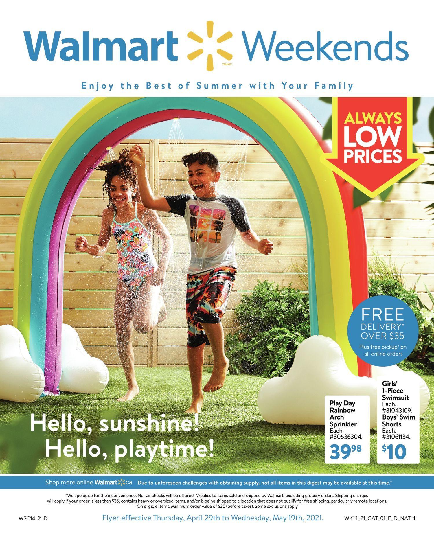 Walmart - Weekends Book