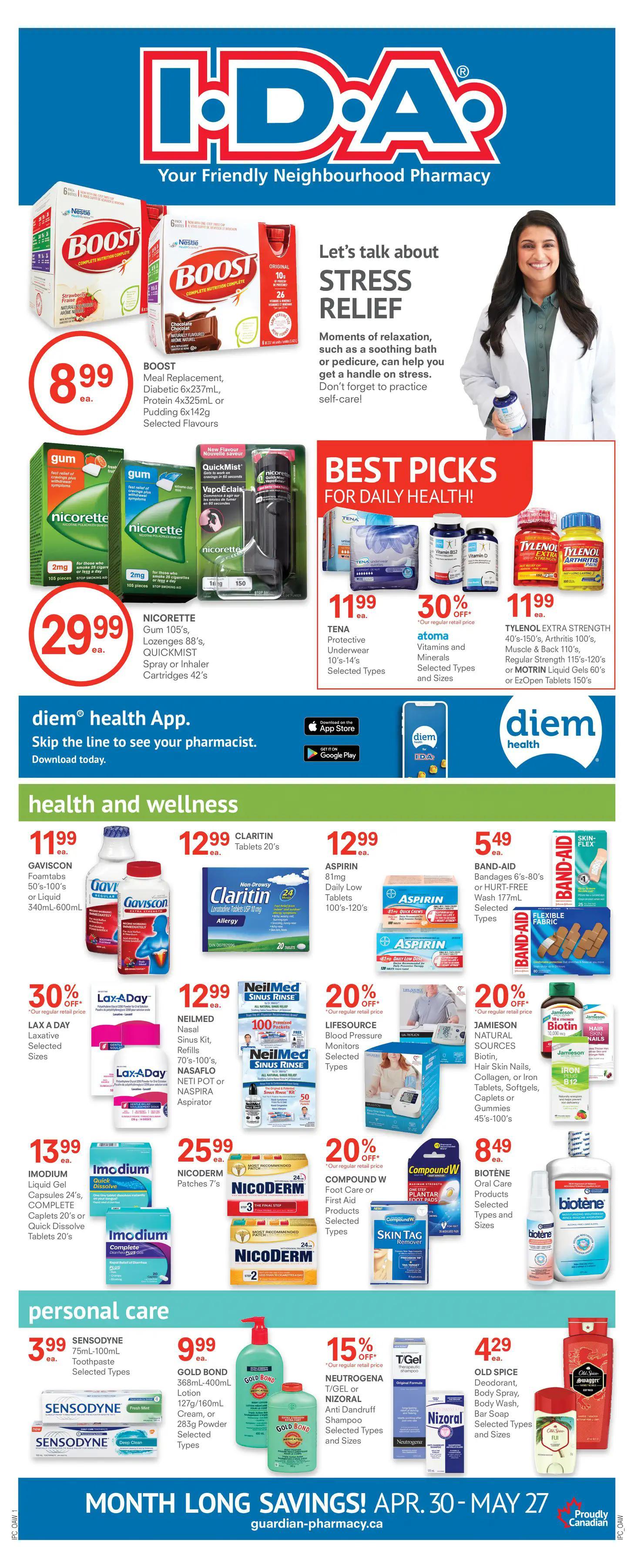 Guardian IDA Pharmacies - Monthly Savings