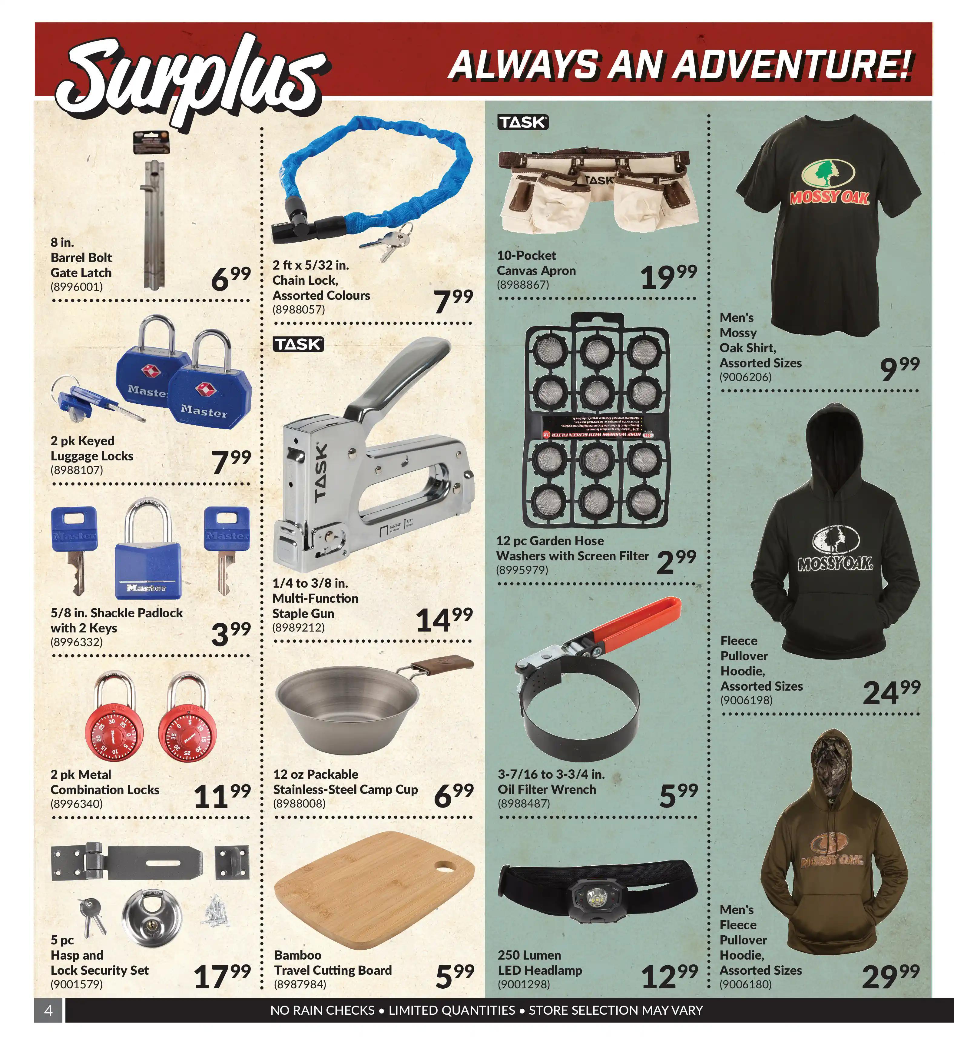 Princess Auto - Surplus - Page 4