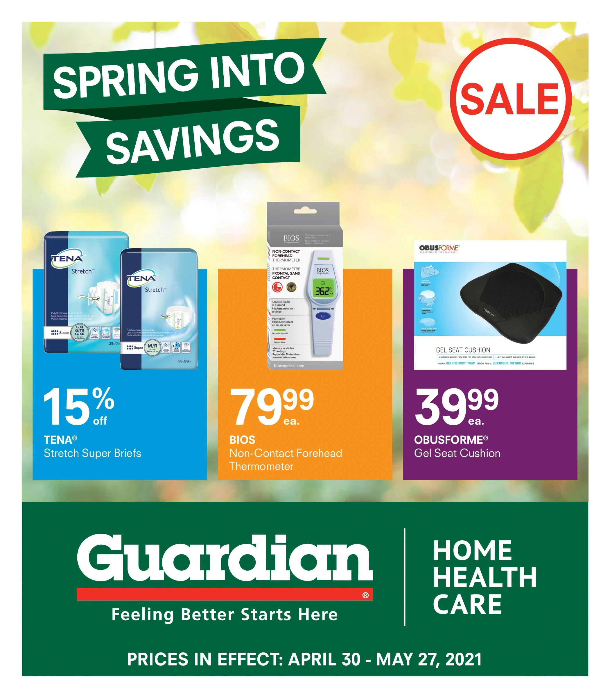 Guardian IDA Pharmacies - Spring into Savings