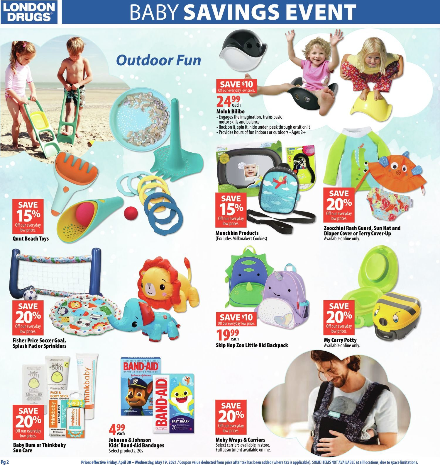 London Drugs - Baby Savings Event - Page 2