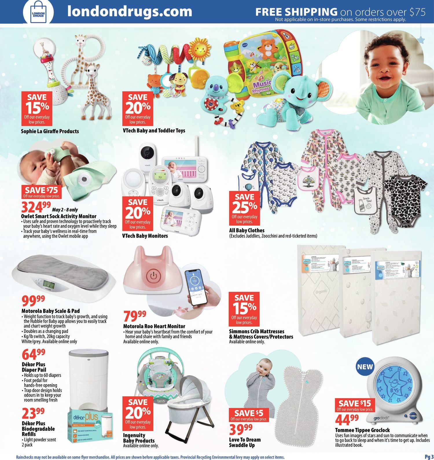 London Drugs - Baby Savings Event - Page 3