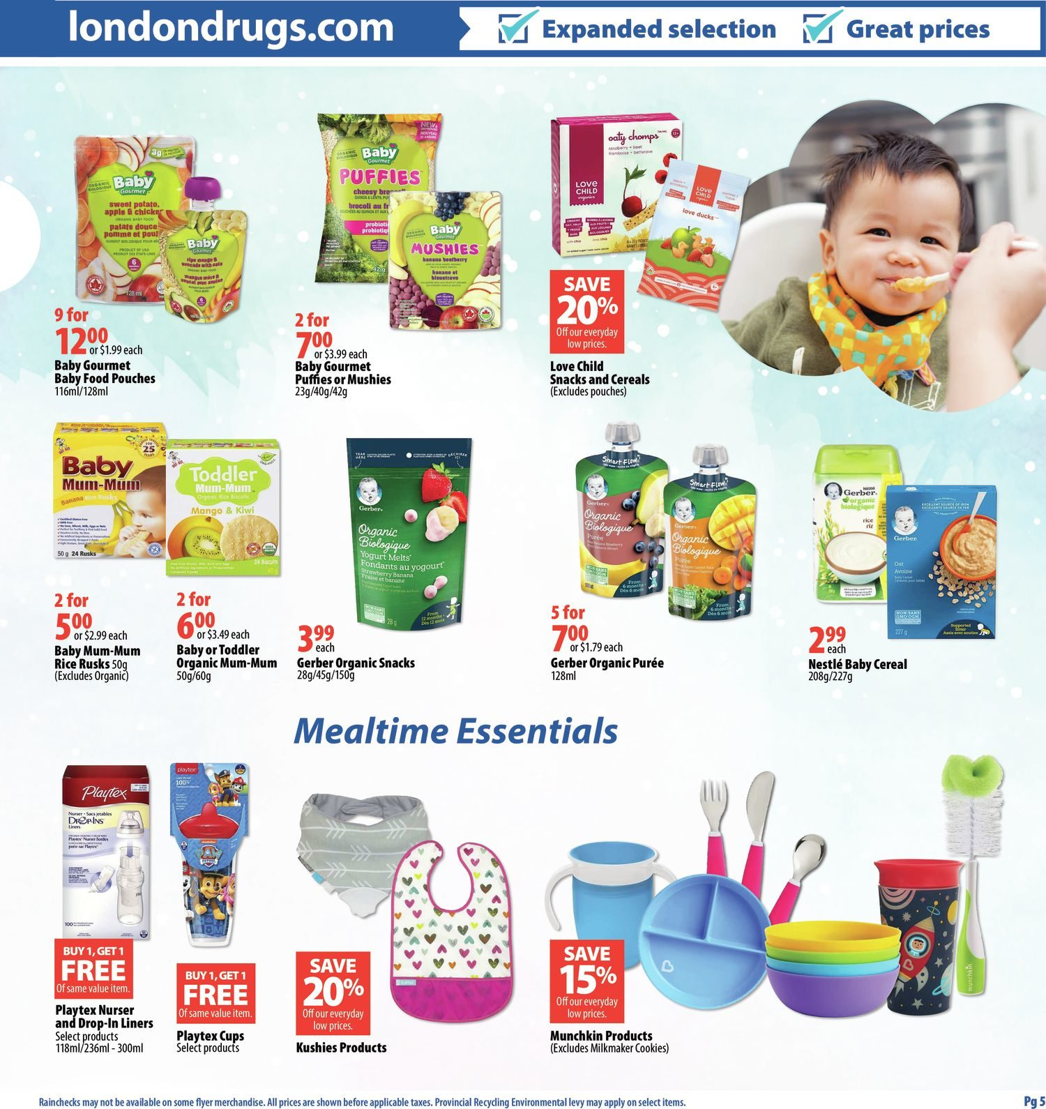 London Drugs - Baby Savings Event - Page 5