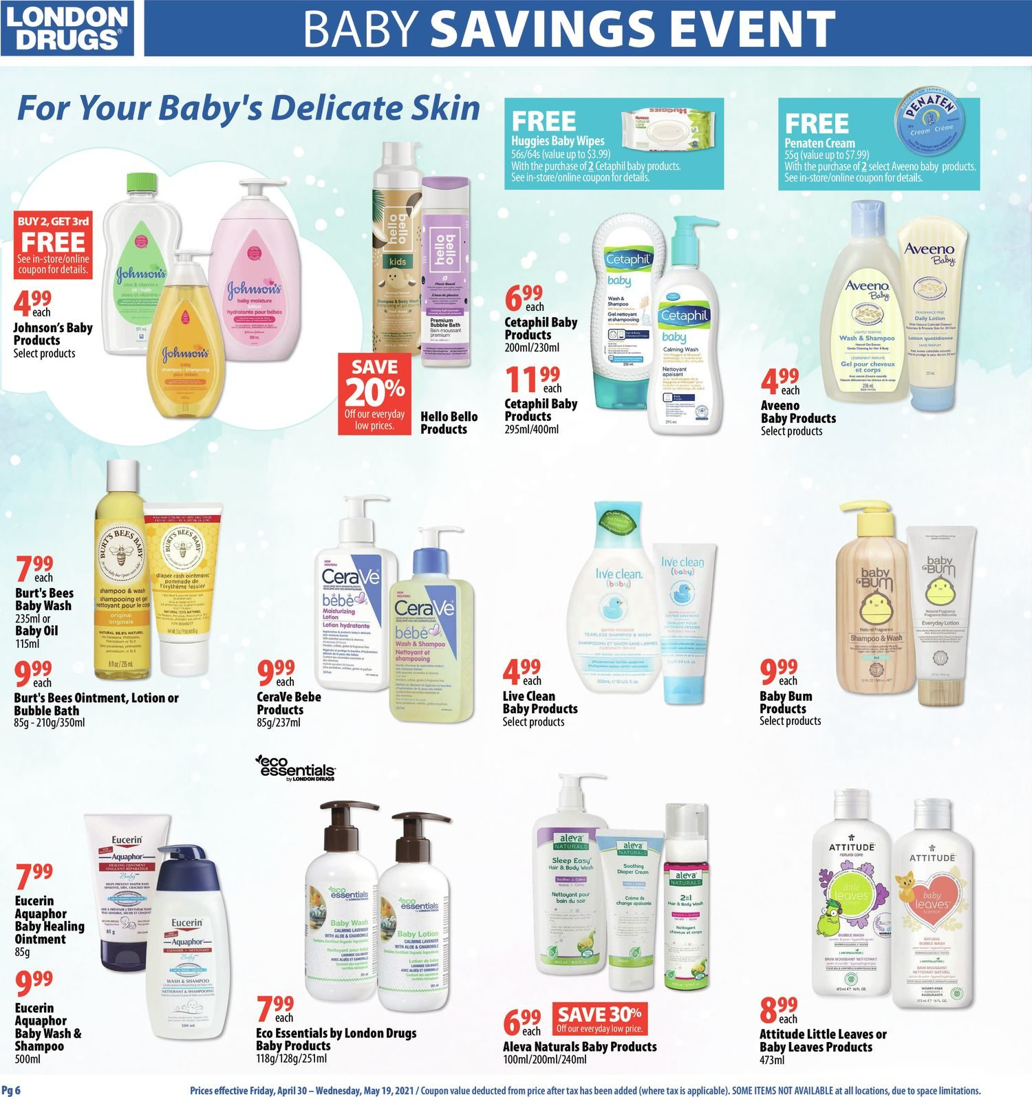 London Drugs - Baby Savings Event - Page 6