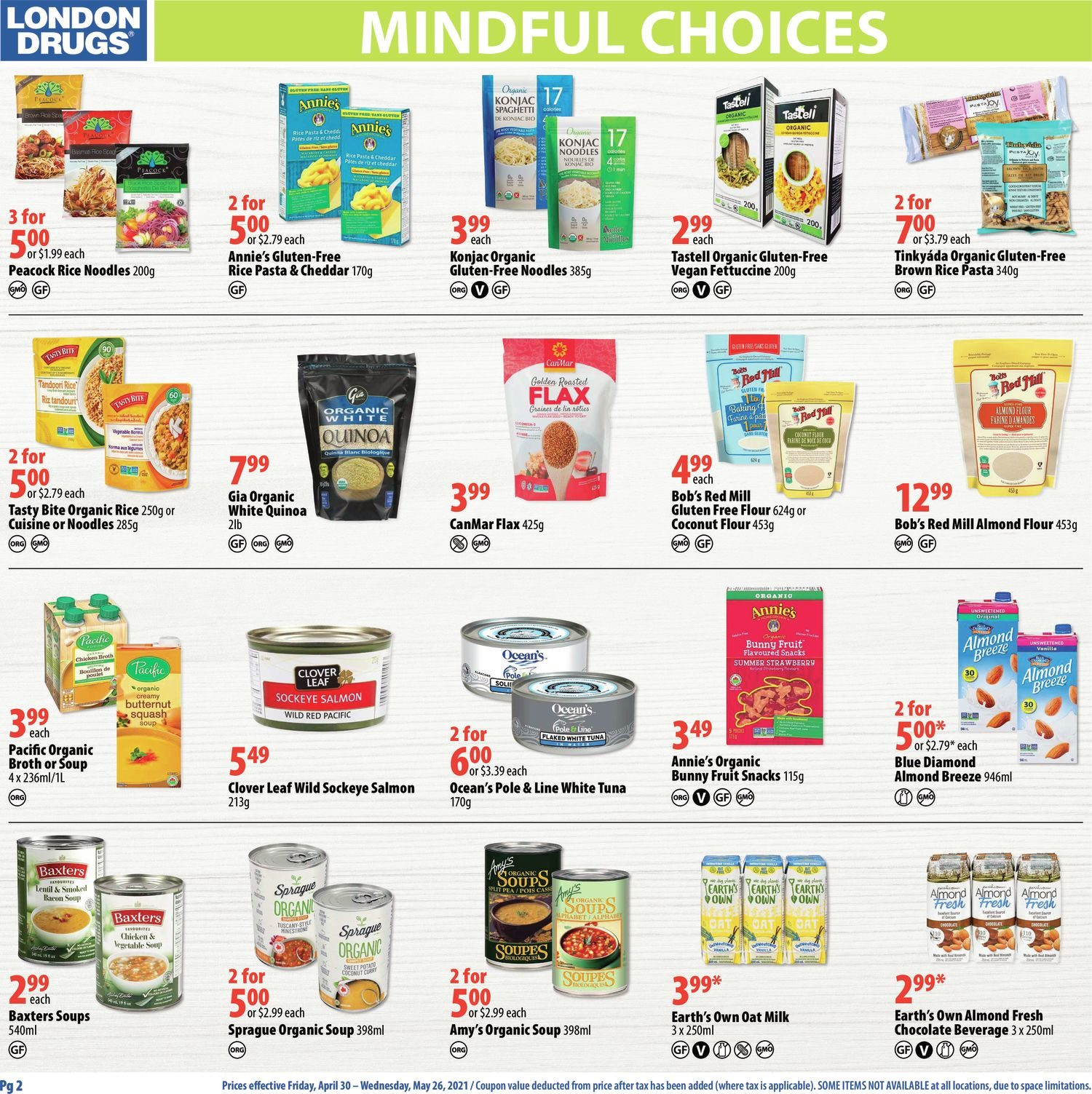 London Drugs - Mindful Choices - Choices To Support Your Lifestyle - Page 2