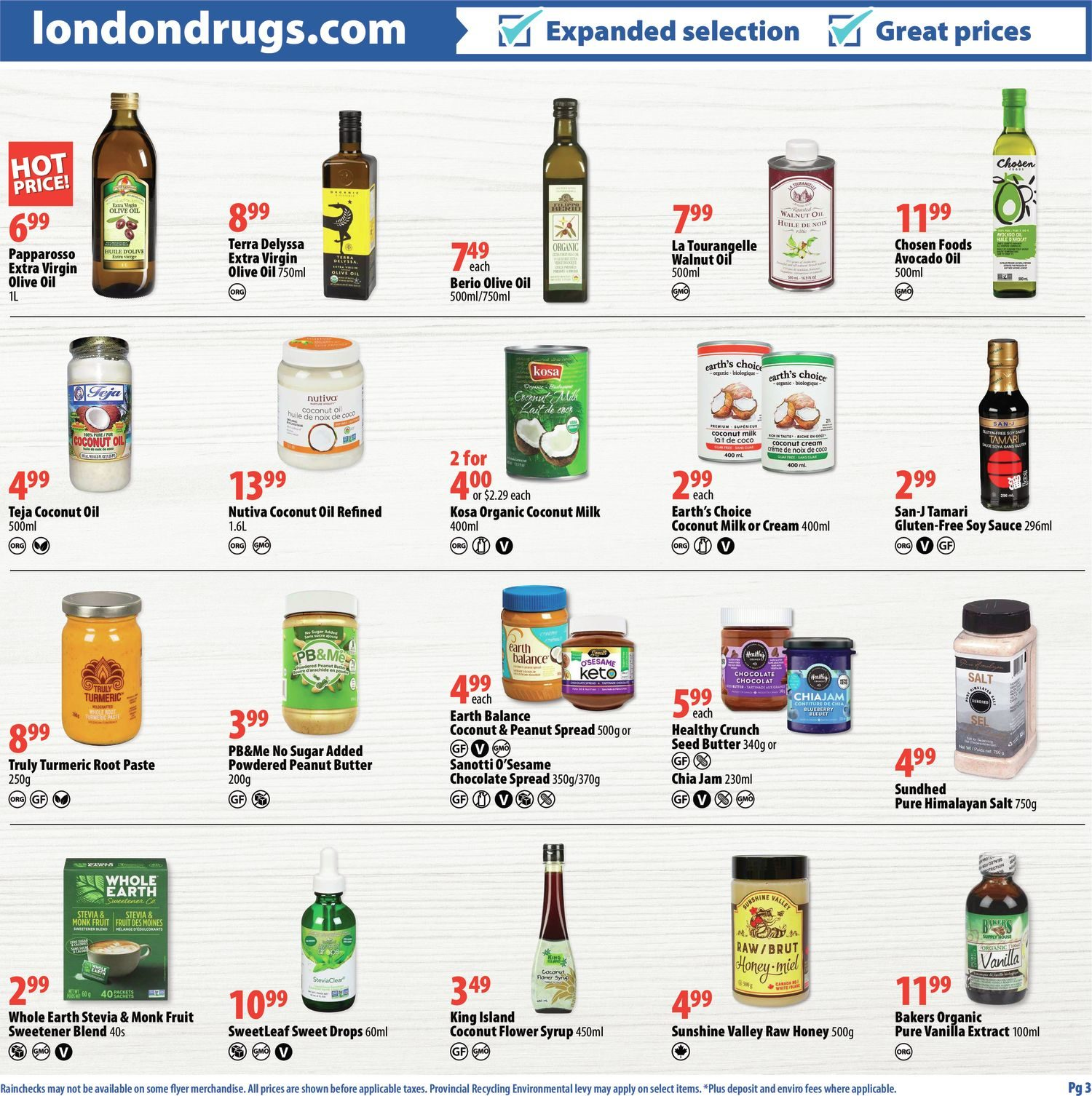 London Drugs - Mindful Choices - Choices To Support Your Lifestyle - Page 3