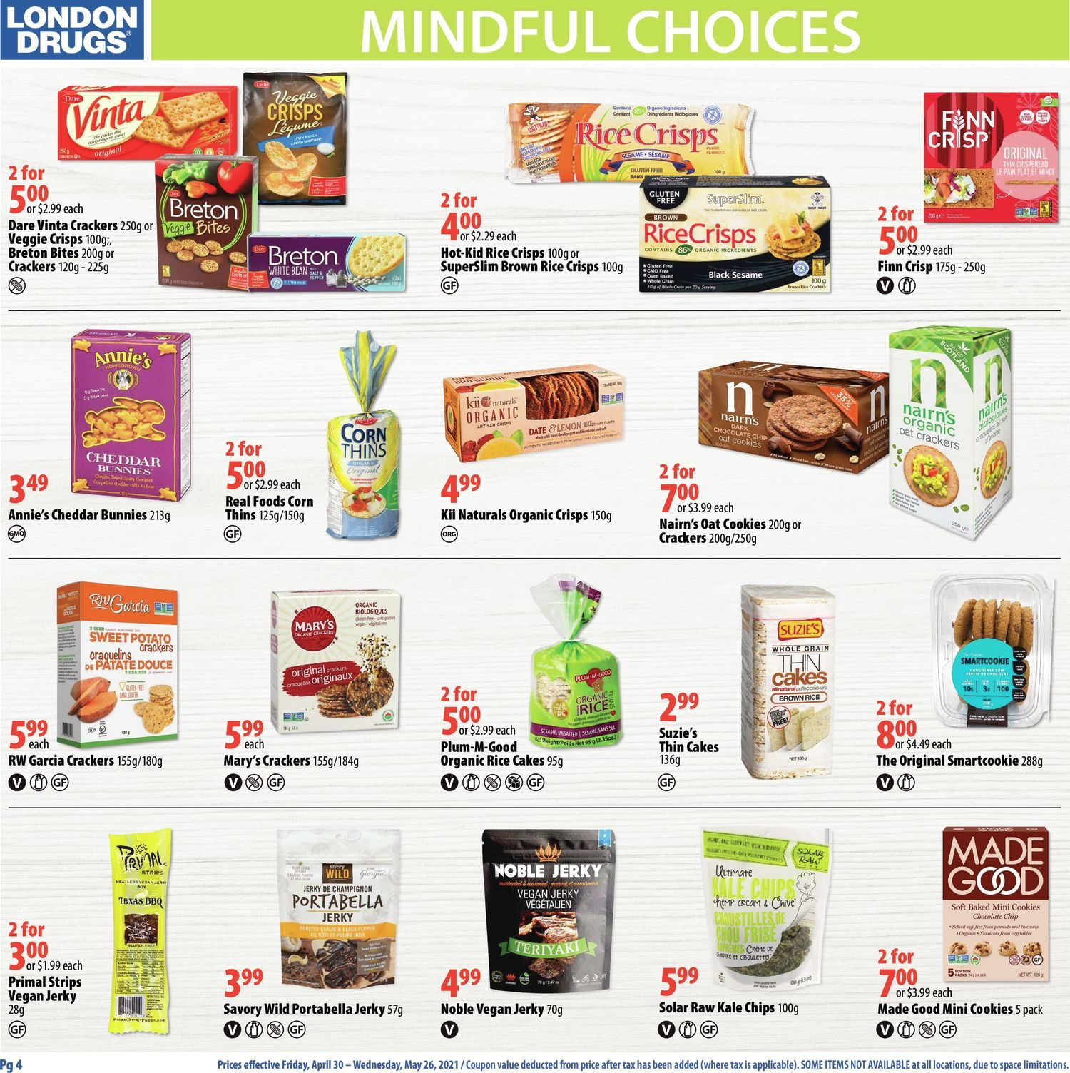 London Drugs - Mindful Choices - Choices To Support Your Lifestyle - Page 4