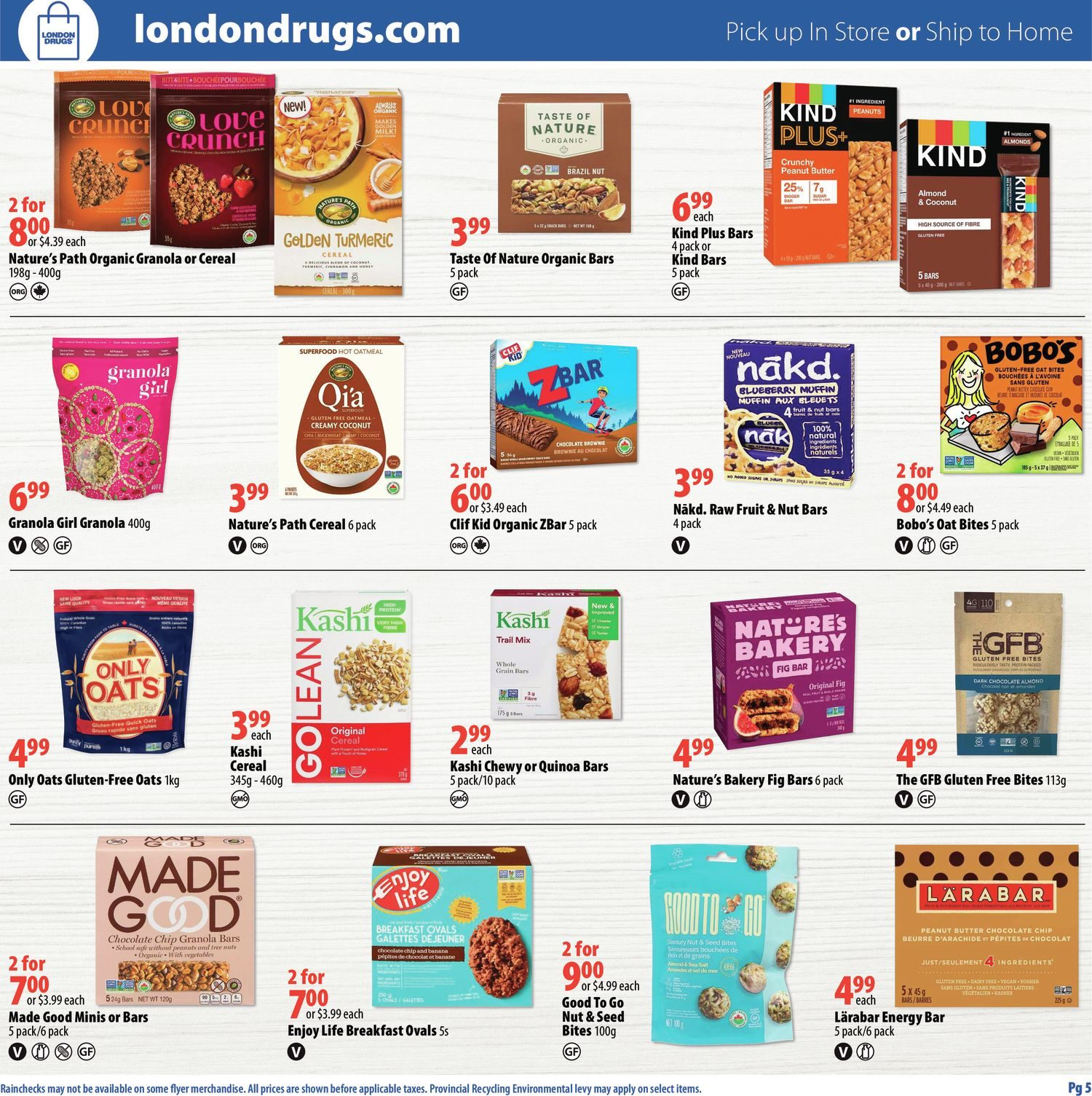 London Drugs - Mindful Choices - Choices To Support Your Lifestyle - Page 5