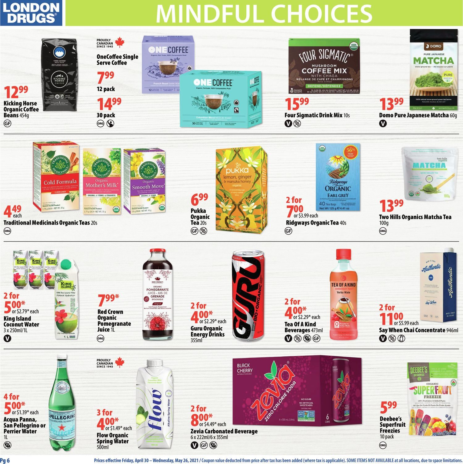 London Drugs - Mindful Choices - Choices To Support Your Lifestyle - Page 6