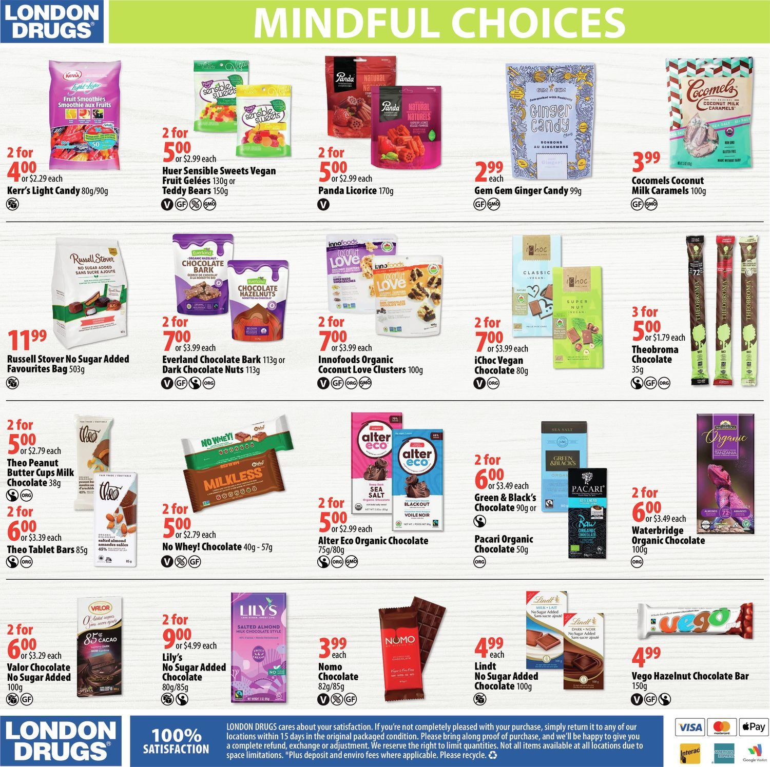London Drugs - Mindful Choices - Choices To Support Your Lifestyle - Page 8
