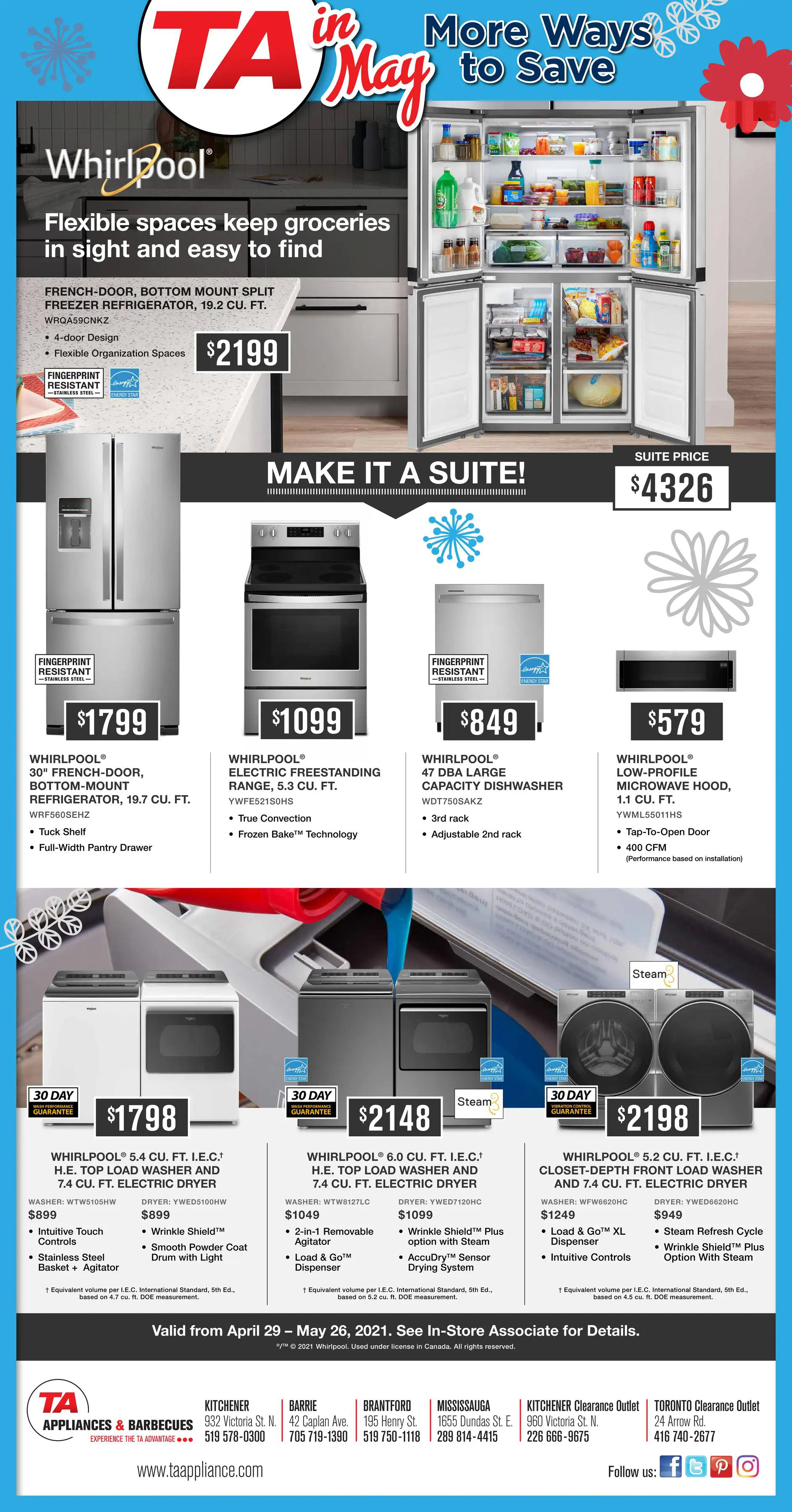 TA Appliance Flyer - More Ways to  Save - Page 3