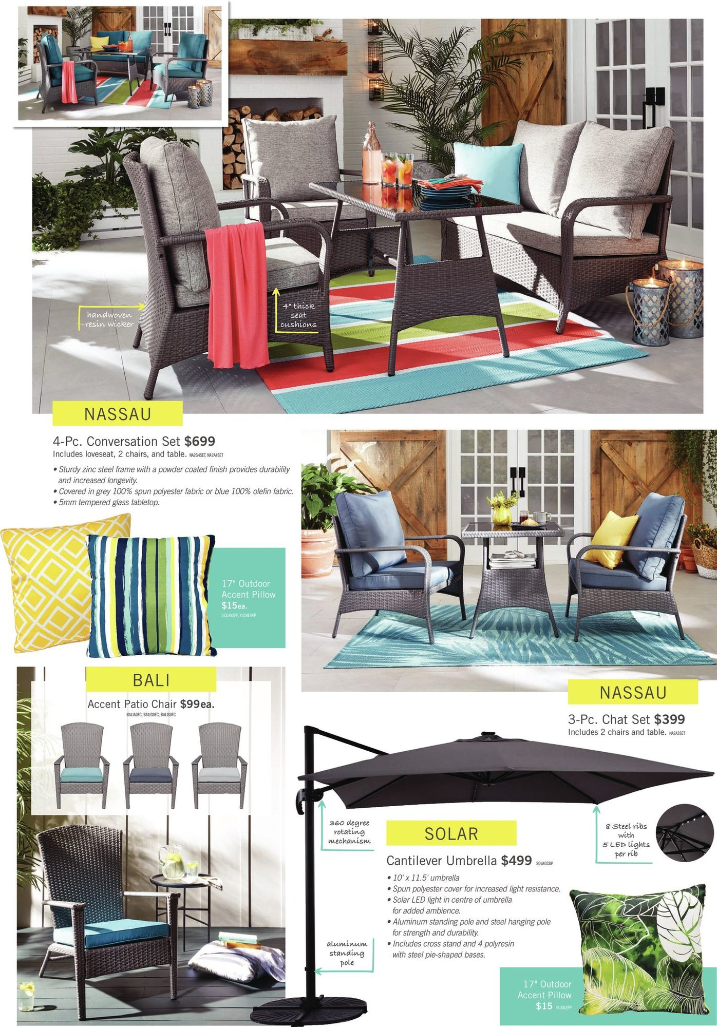 The Brick - 2021 Patio Collection - Hello Sunshine - Page 4