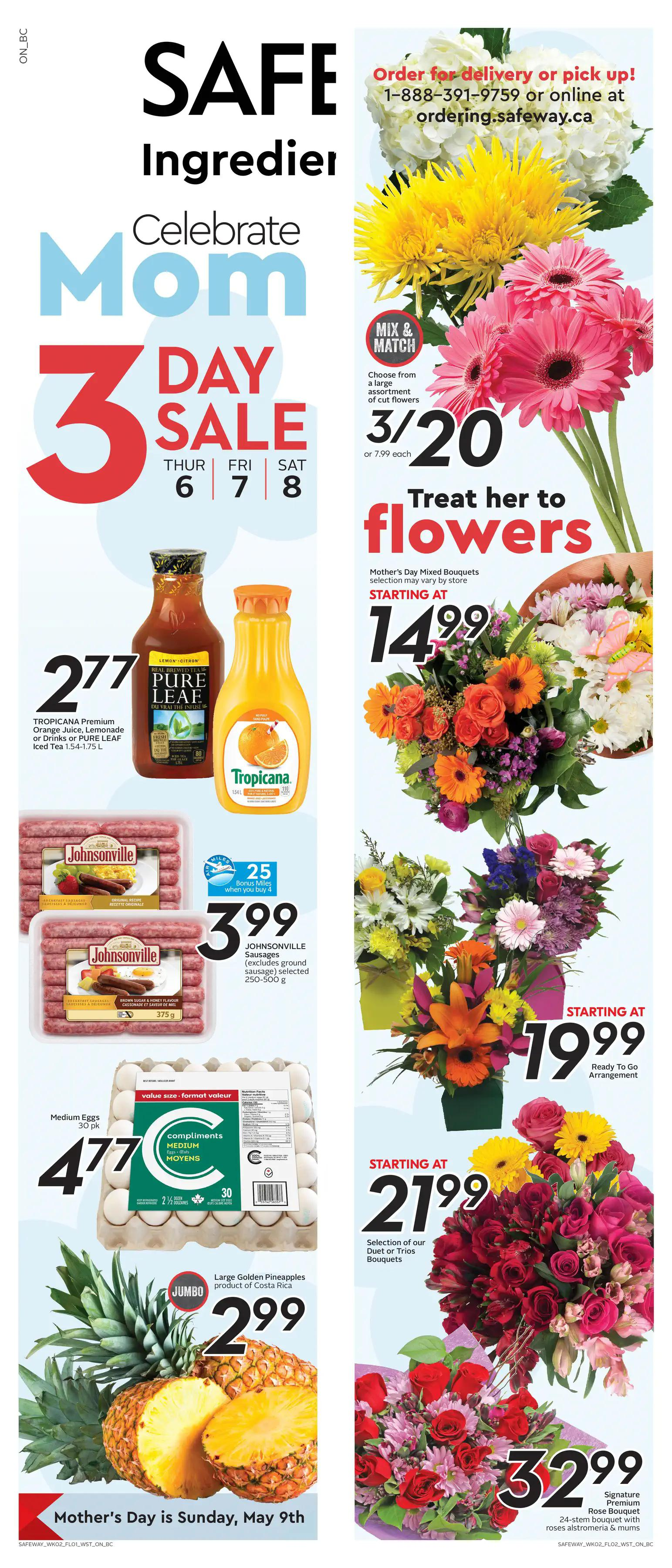 Safeway - Weekly Flyer Specials - Page 1