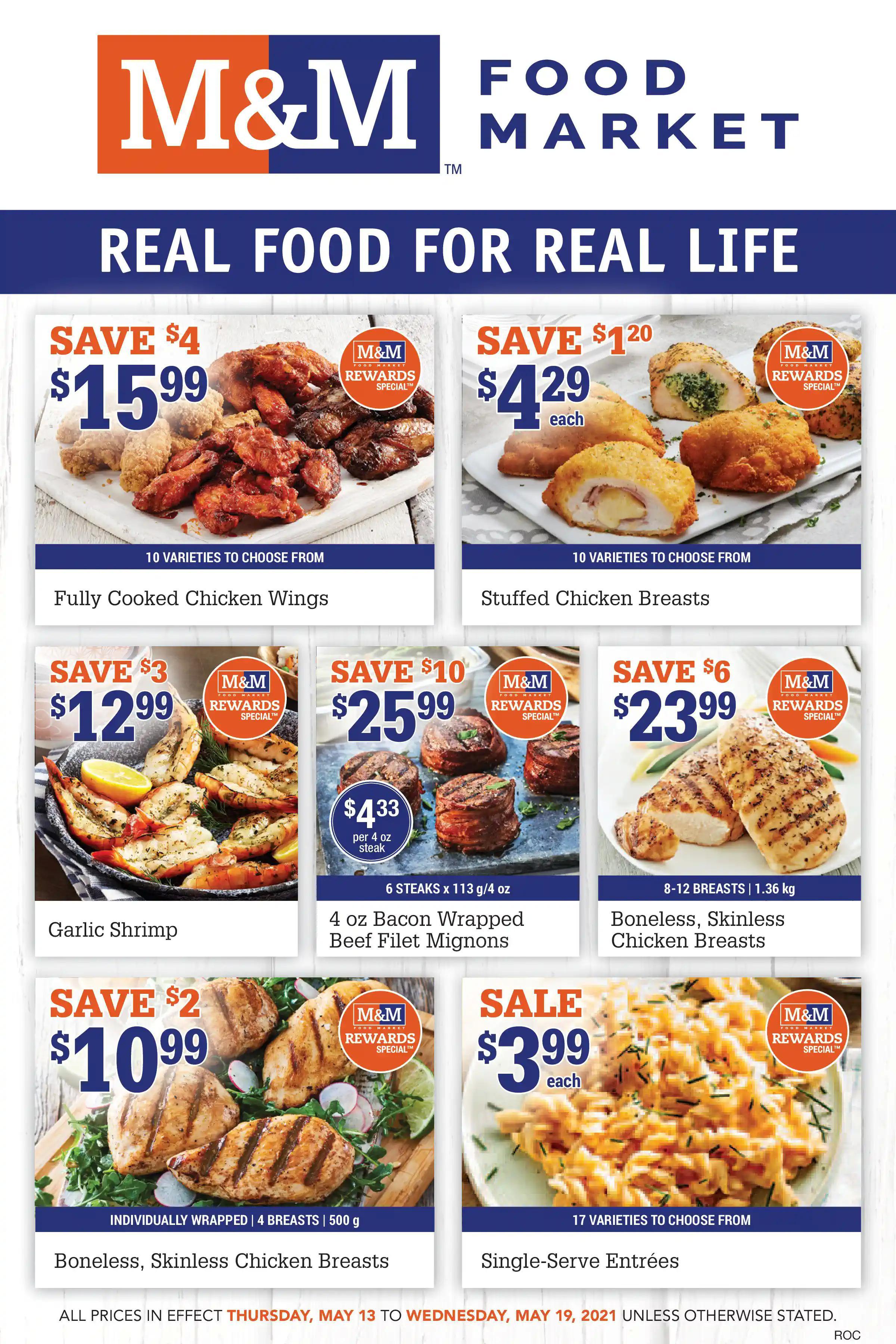 M&M Food Market - Weekly Flyer Specials