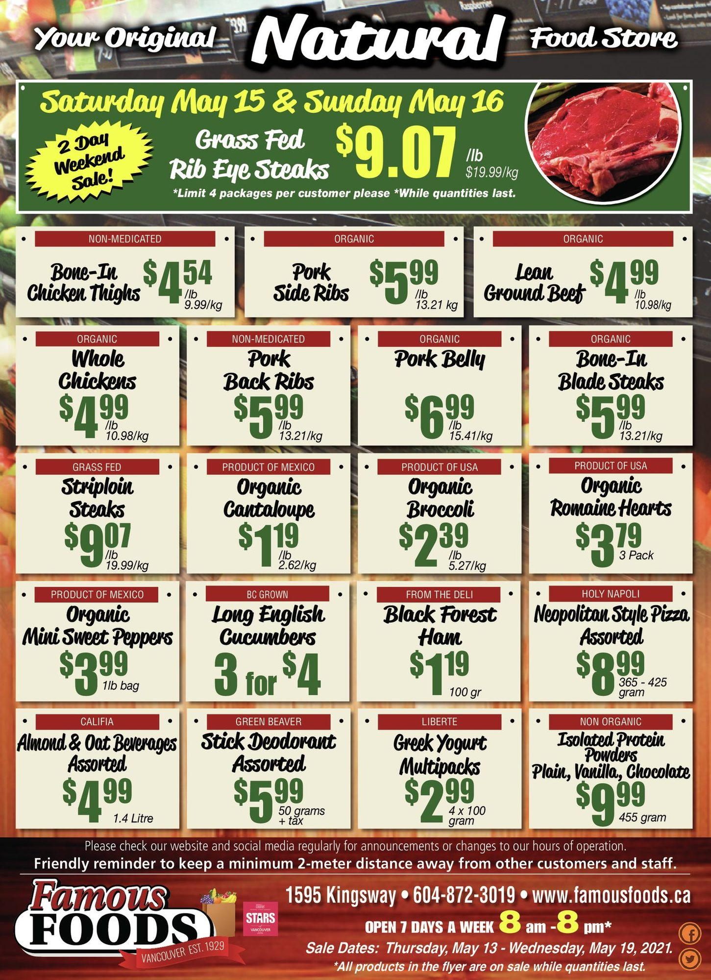 Famous Foods - Weekly Flyer Specials