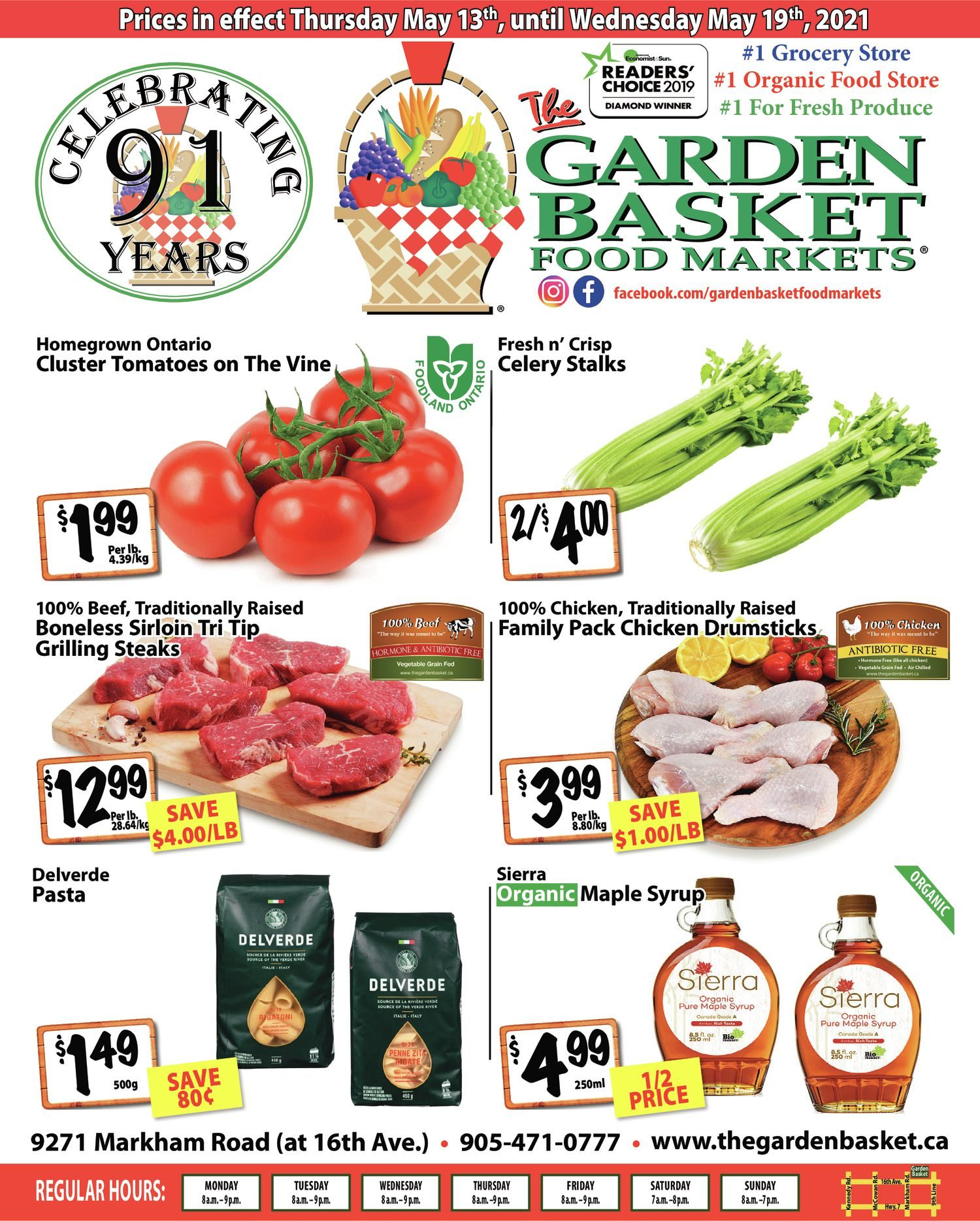 The Garden Basket - Weekly Flyer Specials