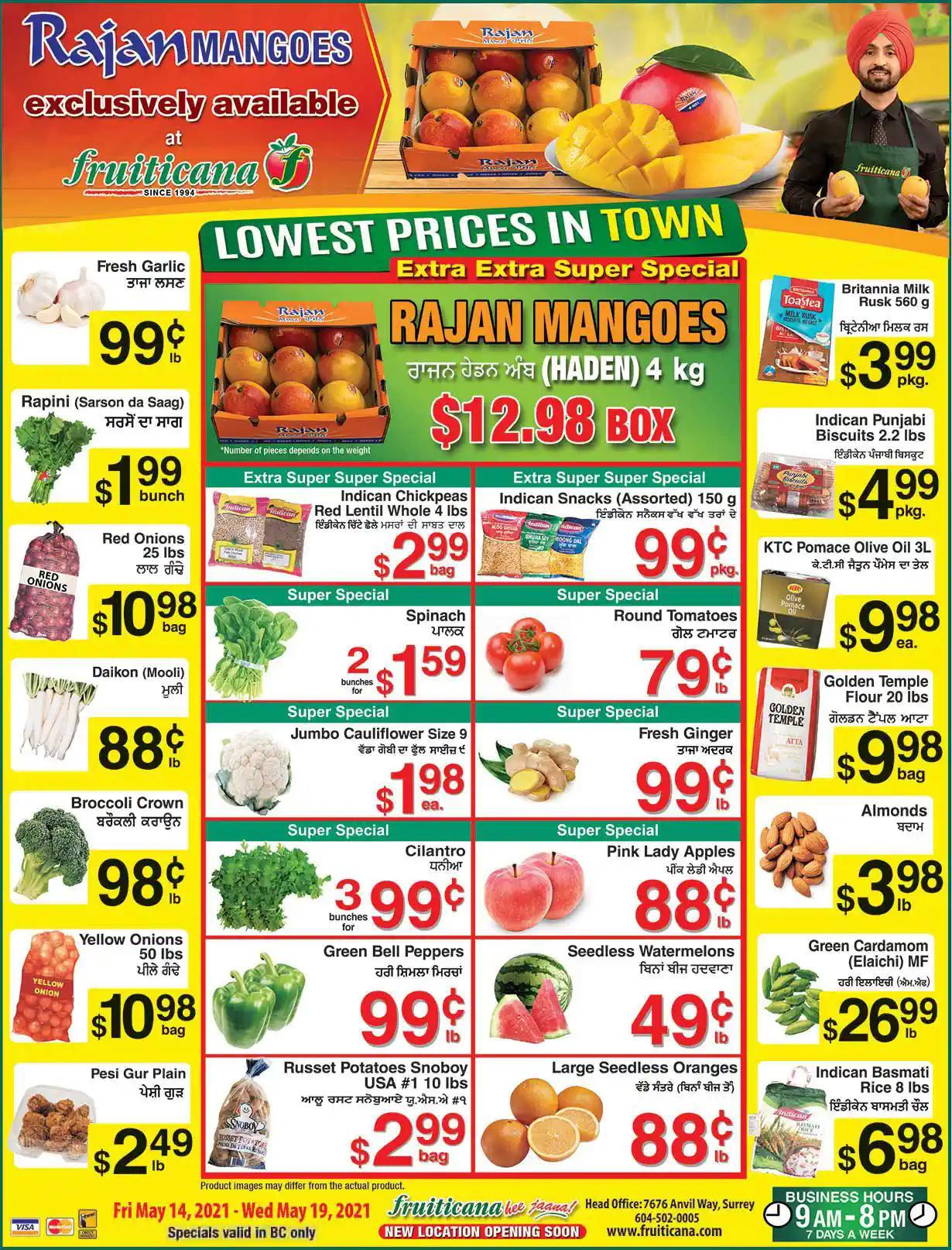 Fruiticana - Weekly Flyer Specials