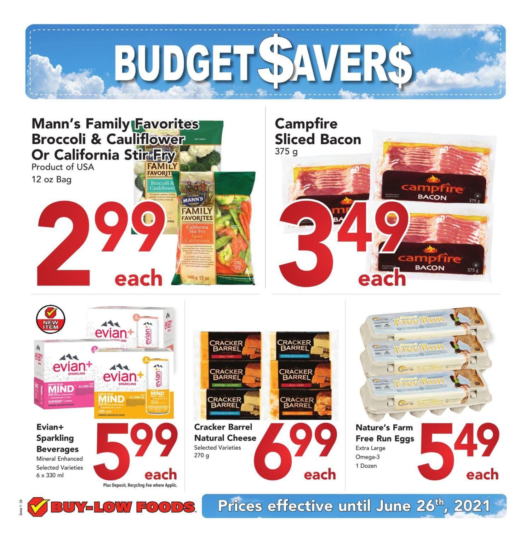 Buy-Low Foods - Budget Savers