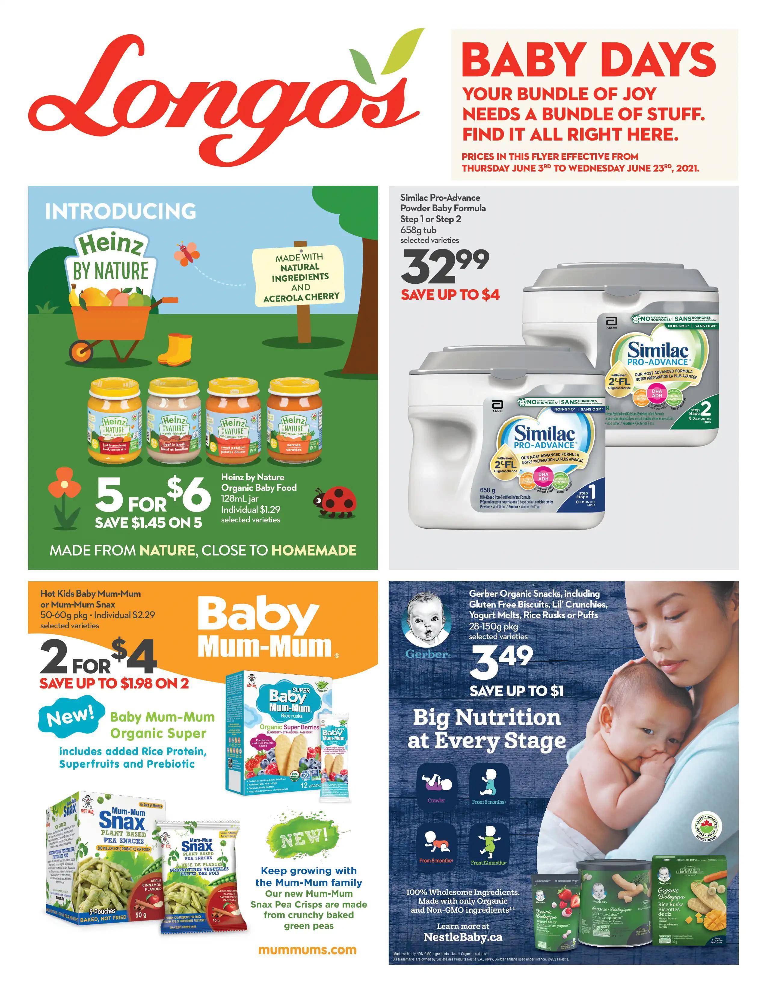 Longo's - Baby Days