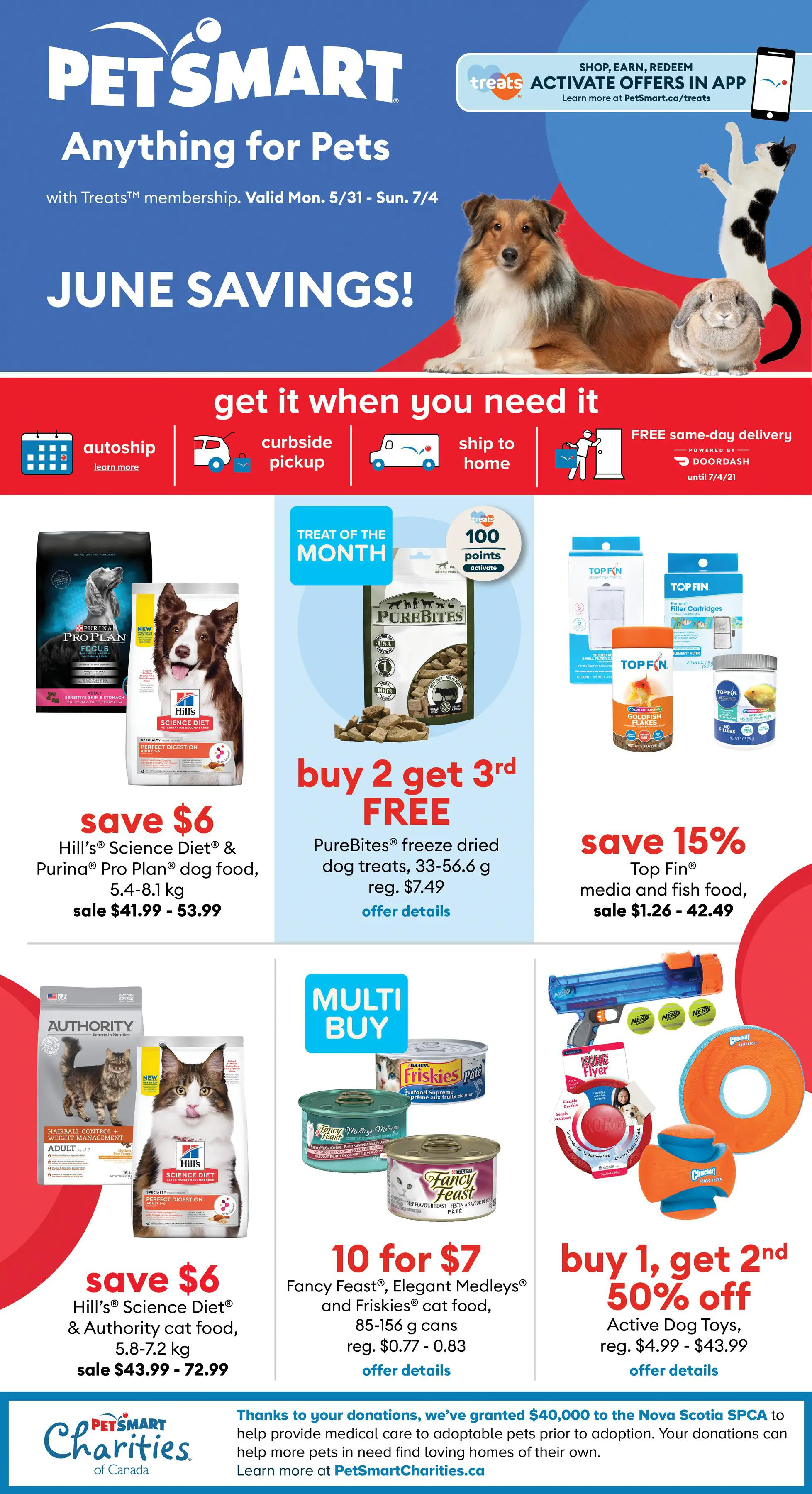 PetSmart - Monthly Savings