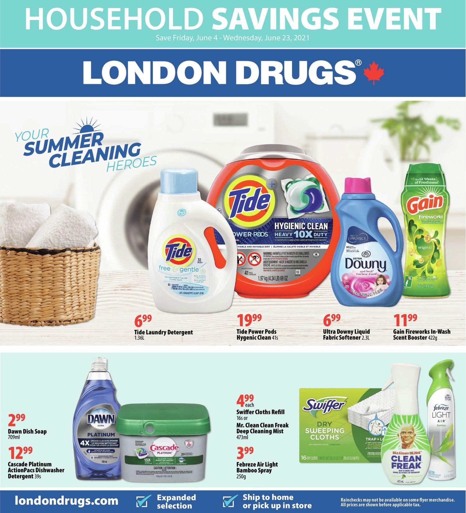 London Drugs - Household Savings Event