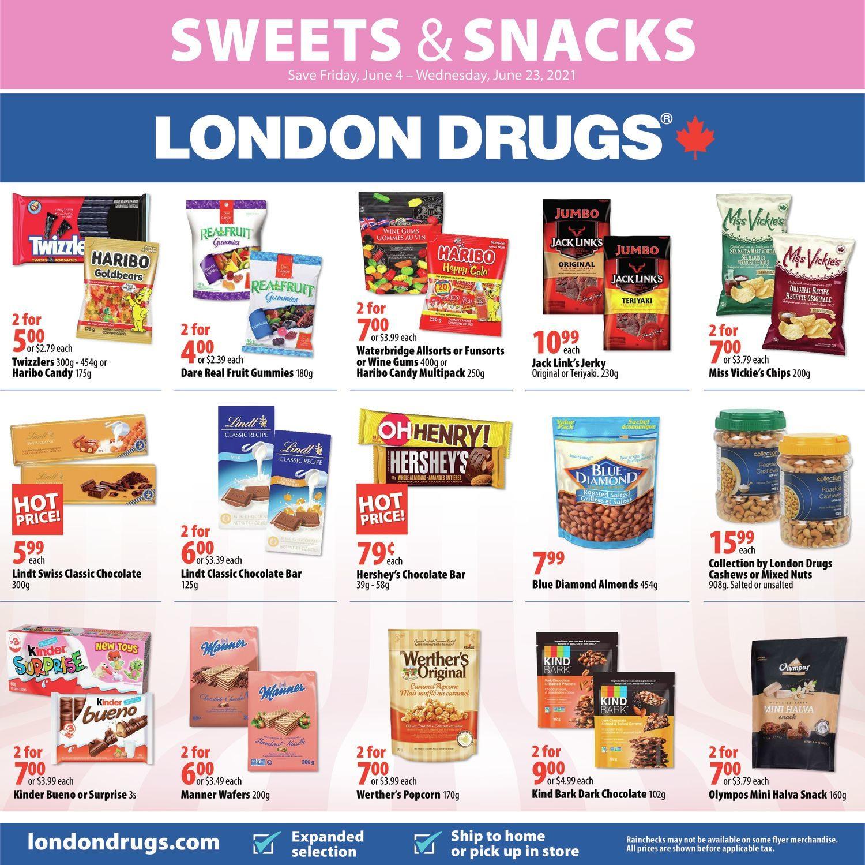London Drugs - Sweets & Snacks