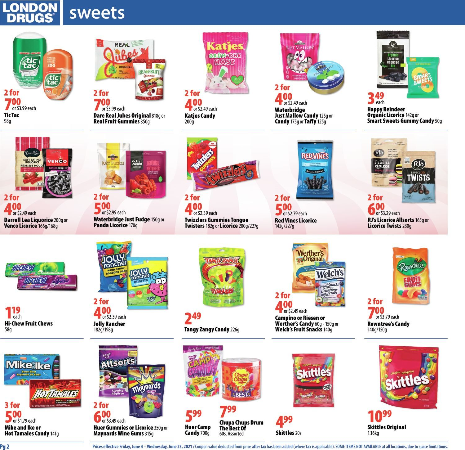 London Drugs - Sweets & Snacks - Page 2