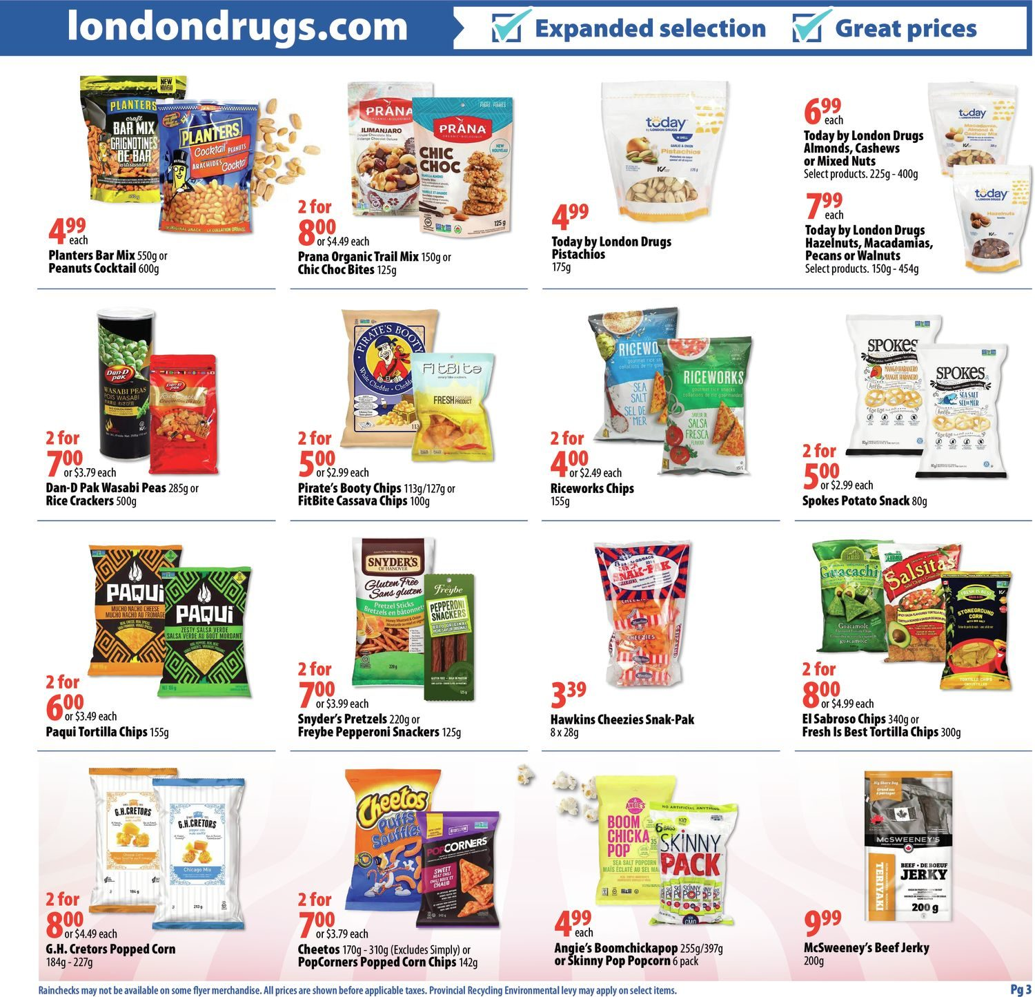 London Drugs - Sweets & Snacks - Page 3