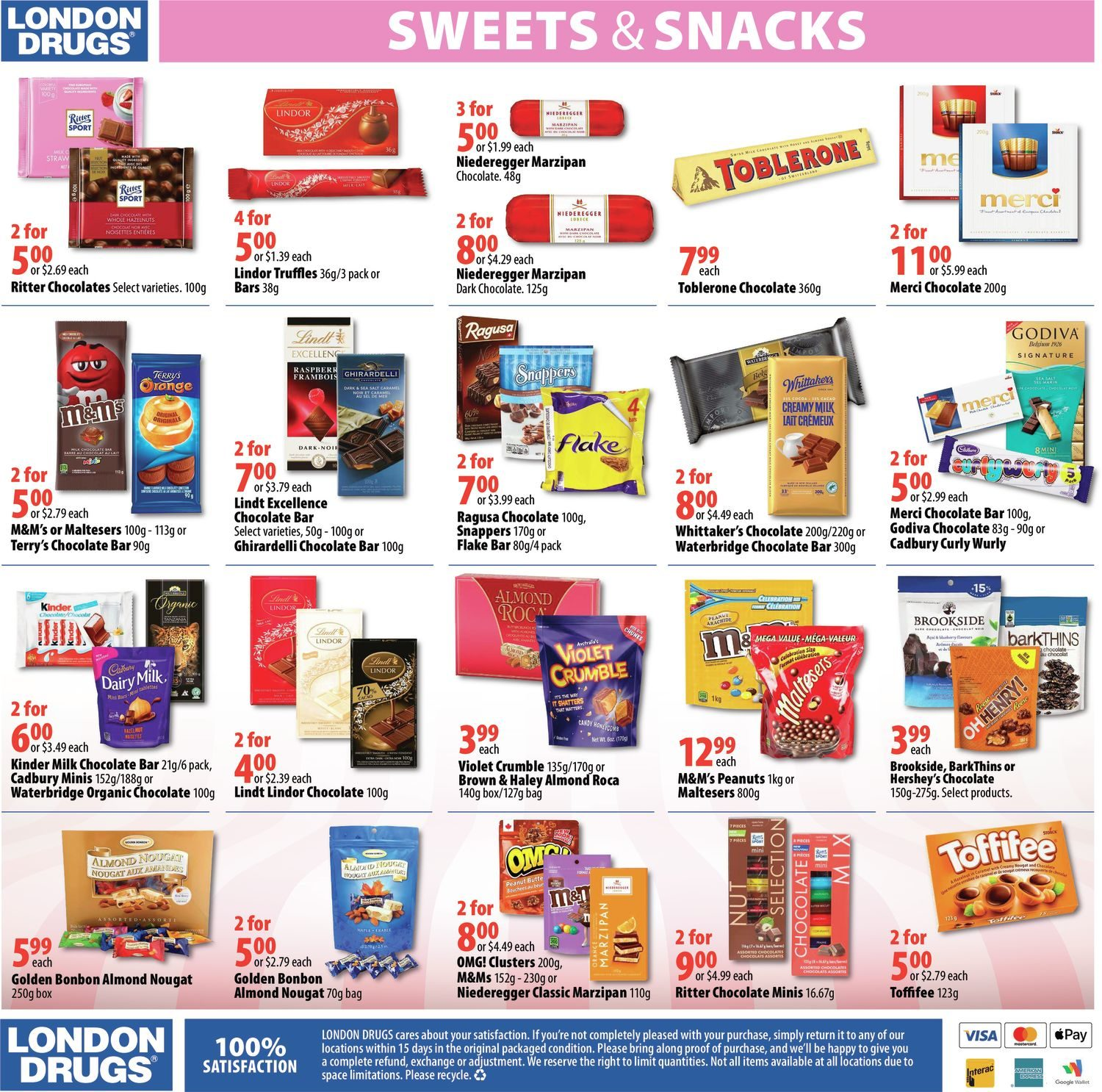 London Drugs - Sweets & Snacks - Page 4