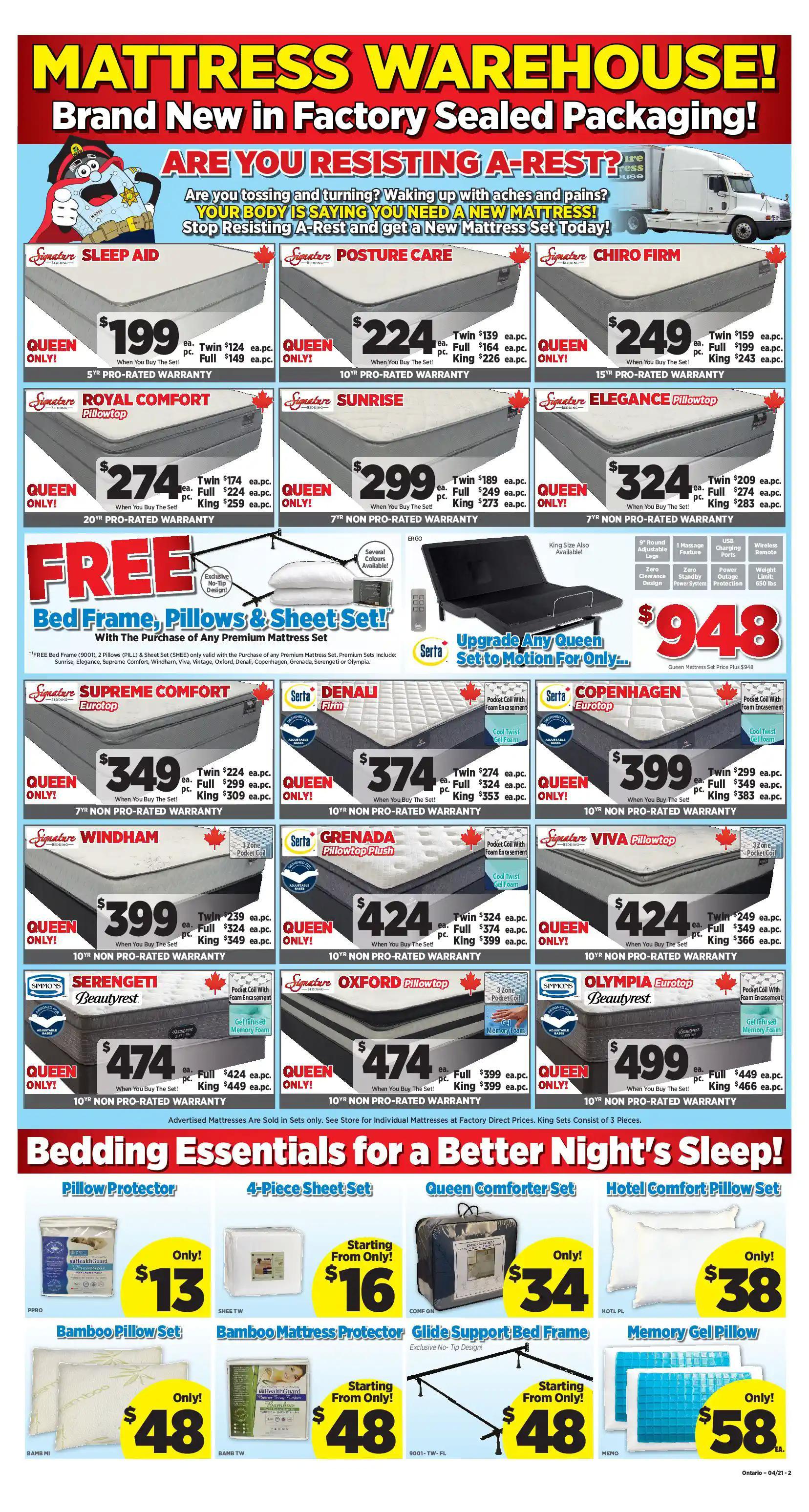 Surplus Furniture & Mattress Warehouse - 4 Weeks of Savings - Page 2