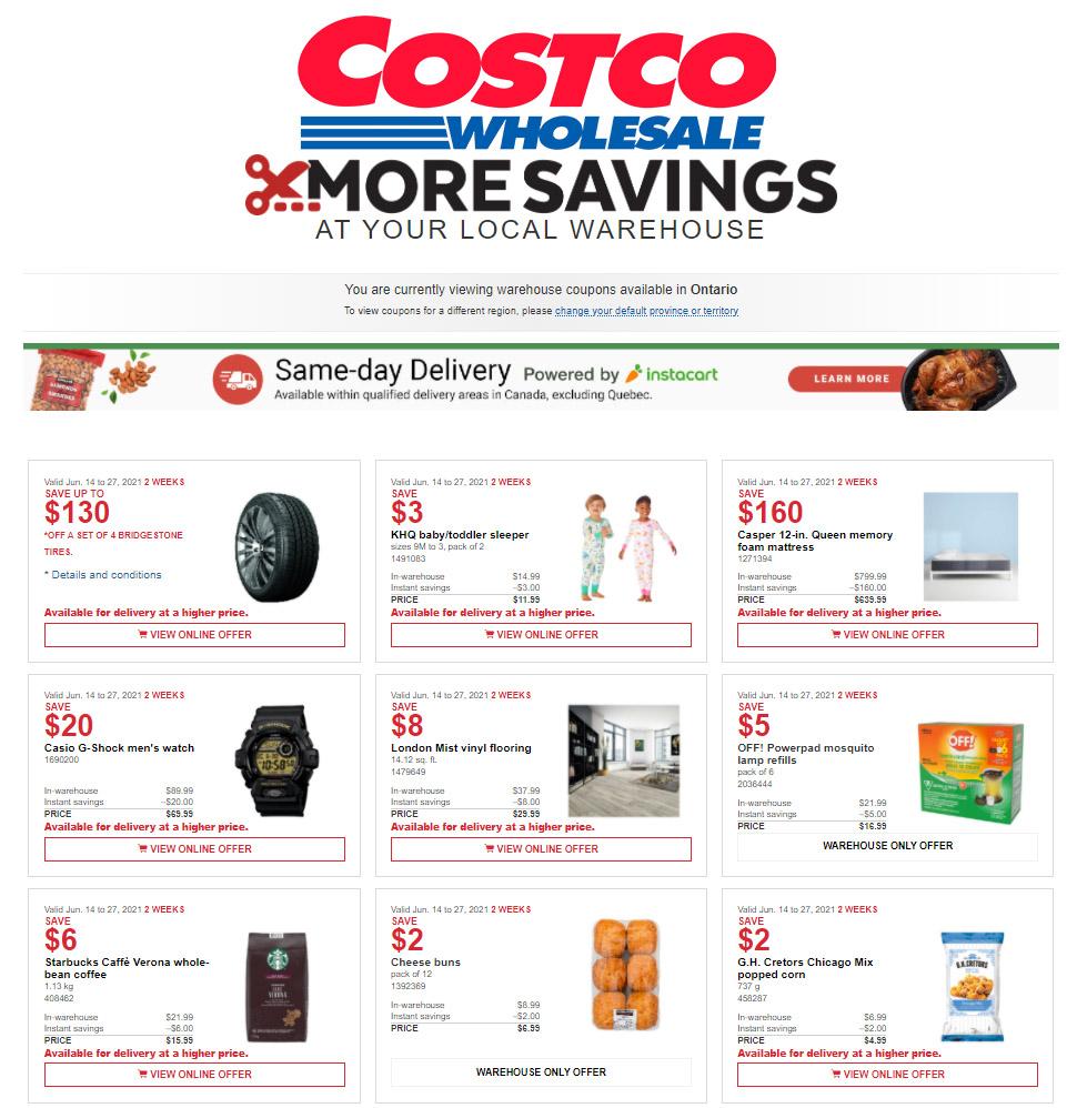 Costco -  Weekly Flyer Specials