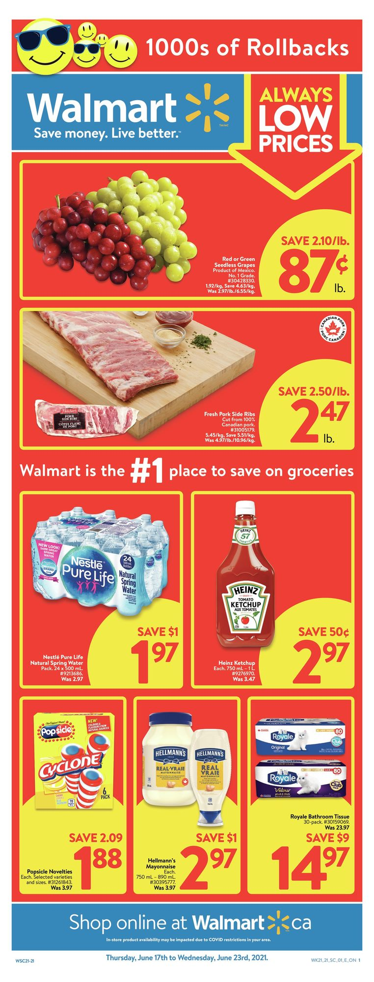 Walmart - Weekly Flyer Specials