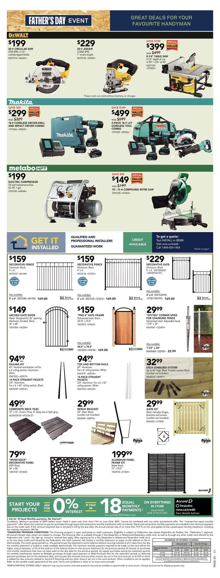 Rona - Weekly Flyer Specials - Father's Day Event - Page 5