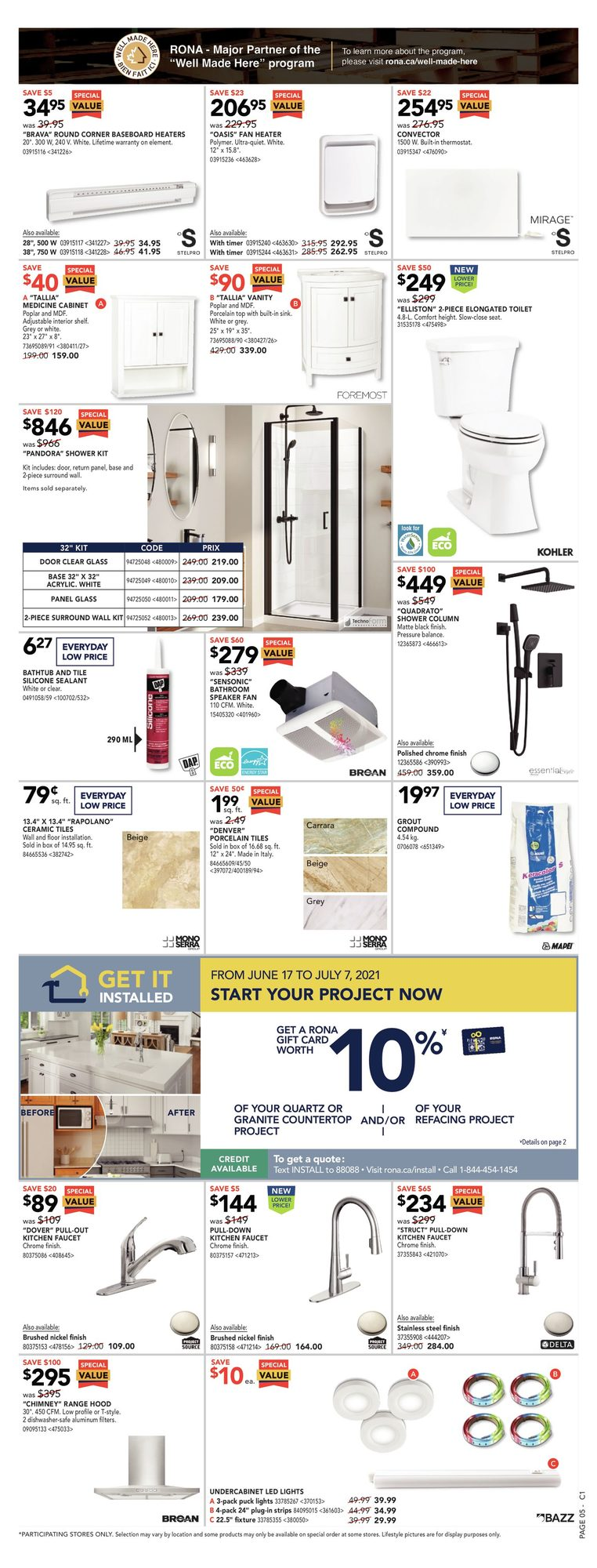 Rona - Weekly Flyer Specials - Father's Day Event - Page 9