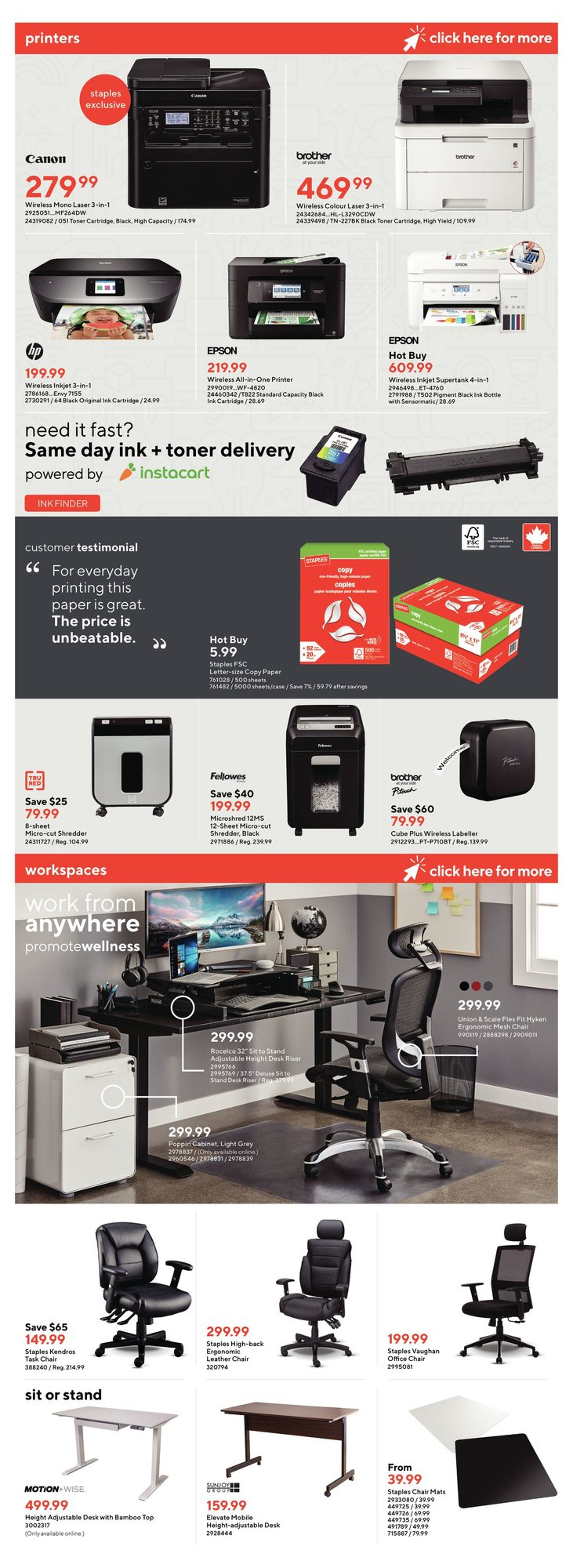Staples - Weekly Flyer Specials - Page 8