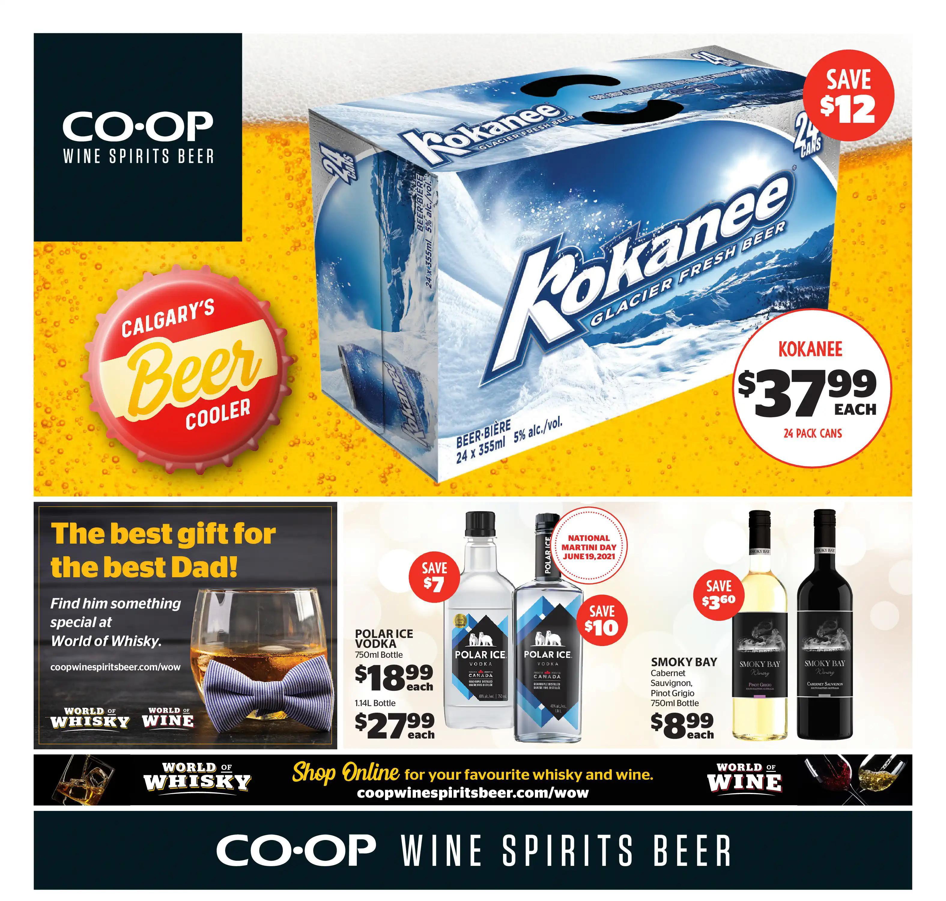 Calgary Co-op - Wine Spirits Beer