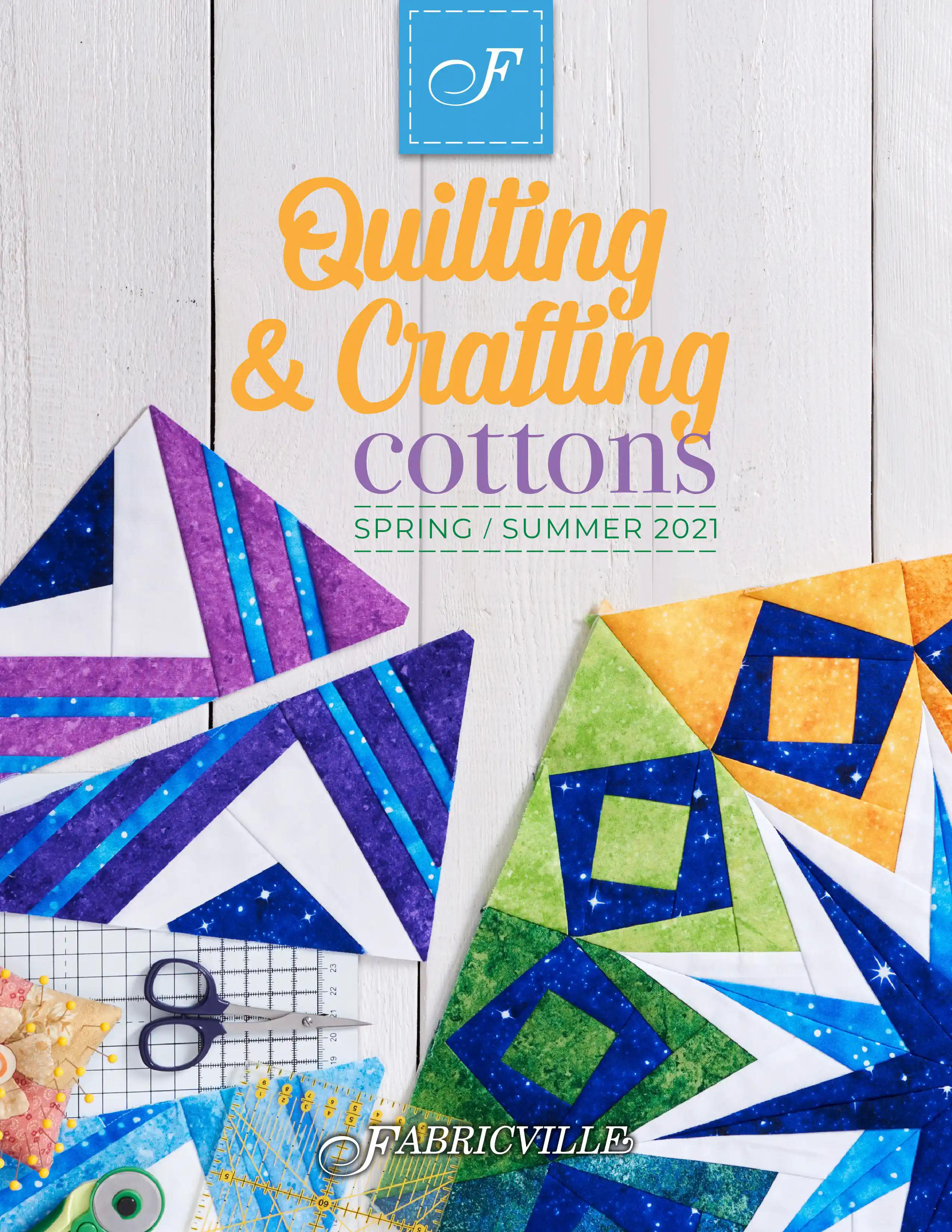 Fabricville - Quilling & Crafting Cottons