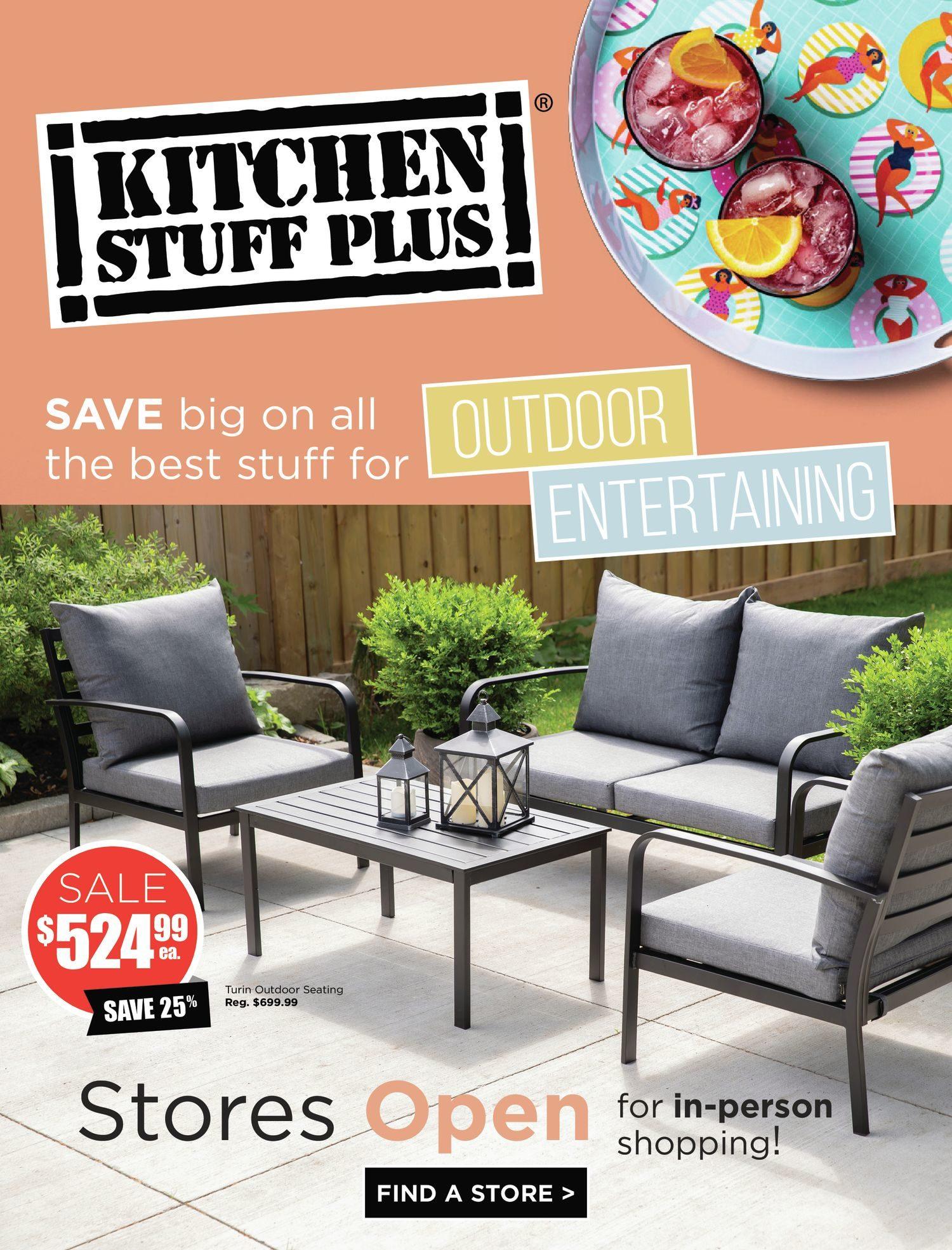 Kitchen Stuff Plus - Outdoor Entertaining Event