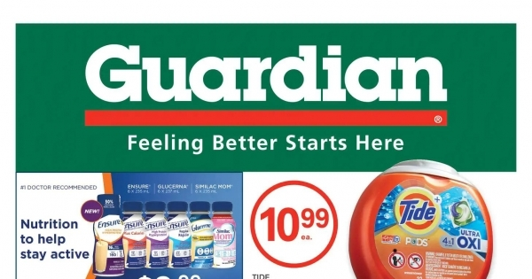 Guardian IDA Pharmacies Flyer online
