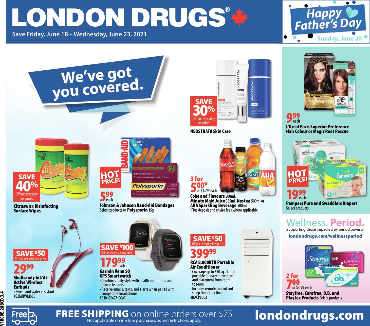 London Drugs - Weekly Flyer Specials - We've Got You Covered