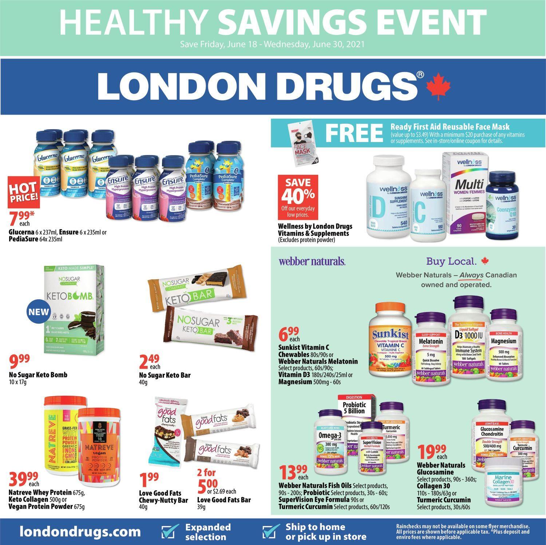 London Drugs - Healthy Savings Event