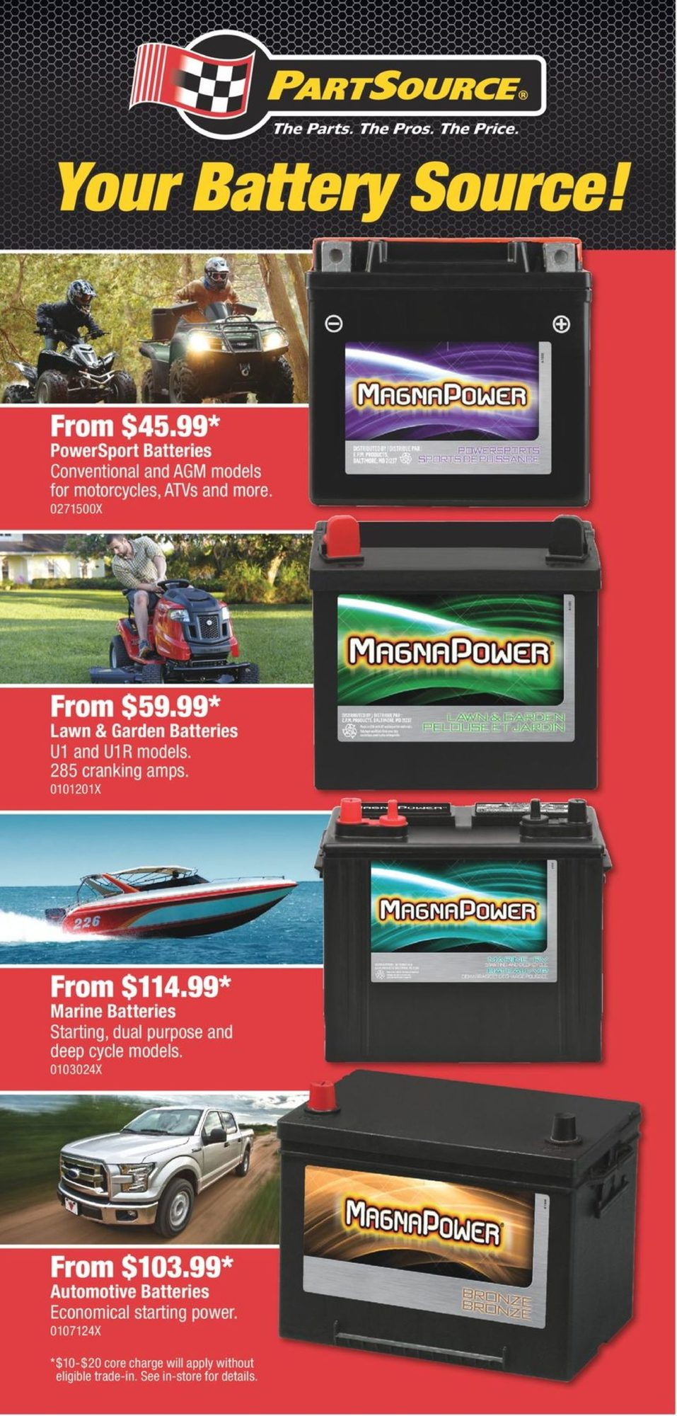 PartSource - Weekly Flyer Specials - Save The Tax Event - Page 3
