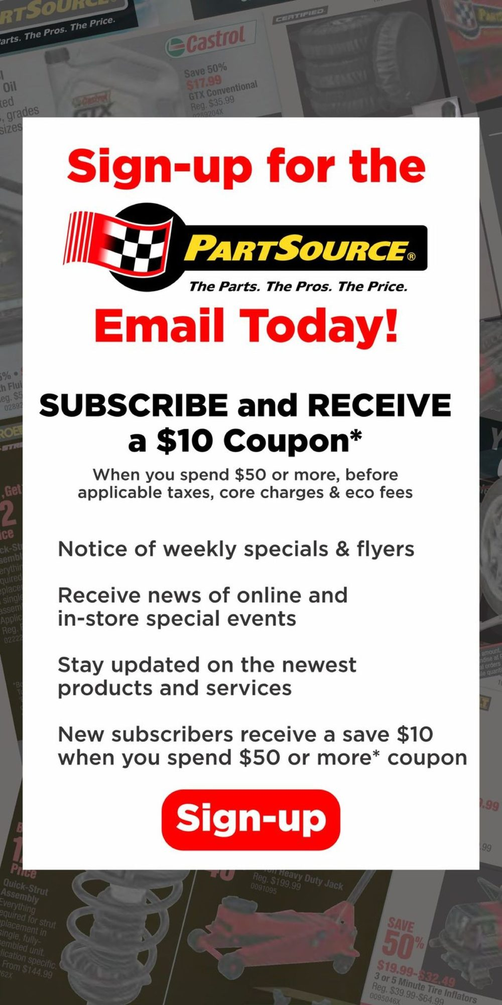 PartSource - Weekly Flyer Specials - Save The Tax Event - Page 4