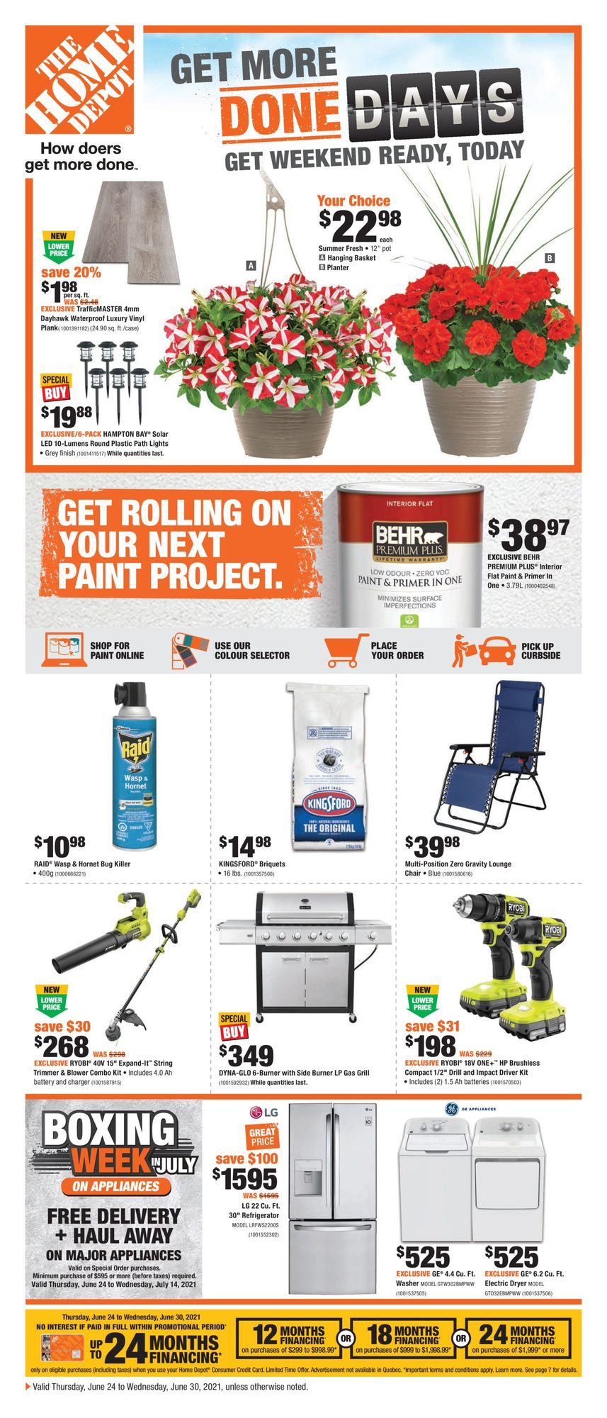Home Depot - Weekly Flyer Specials