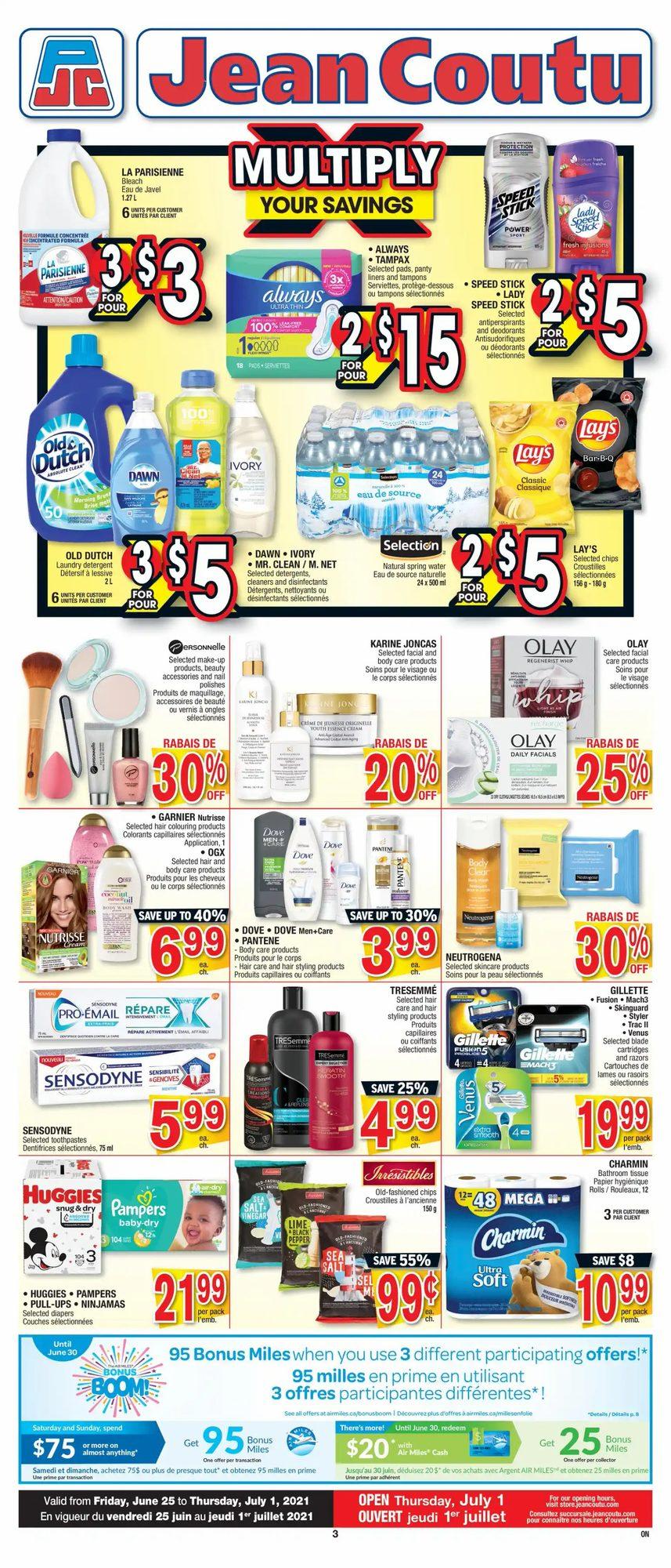 Jean Coutu - Weekly Flyer Specials