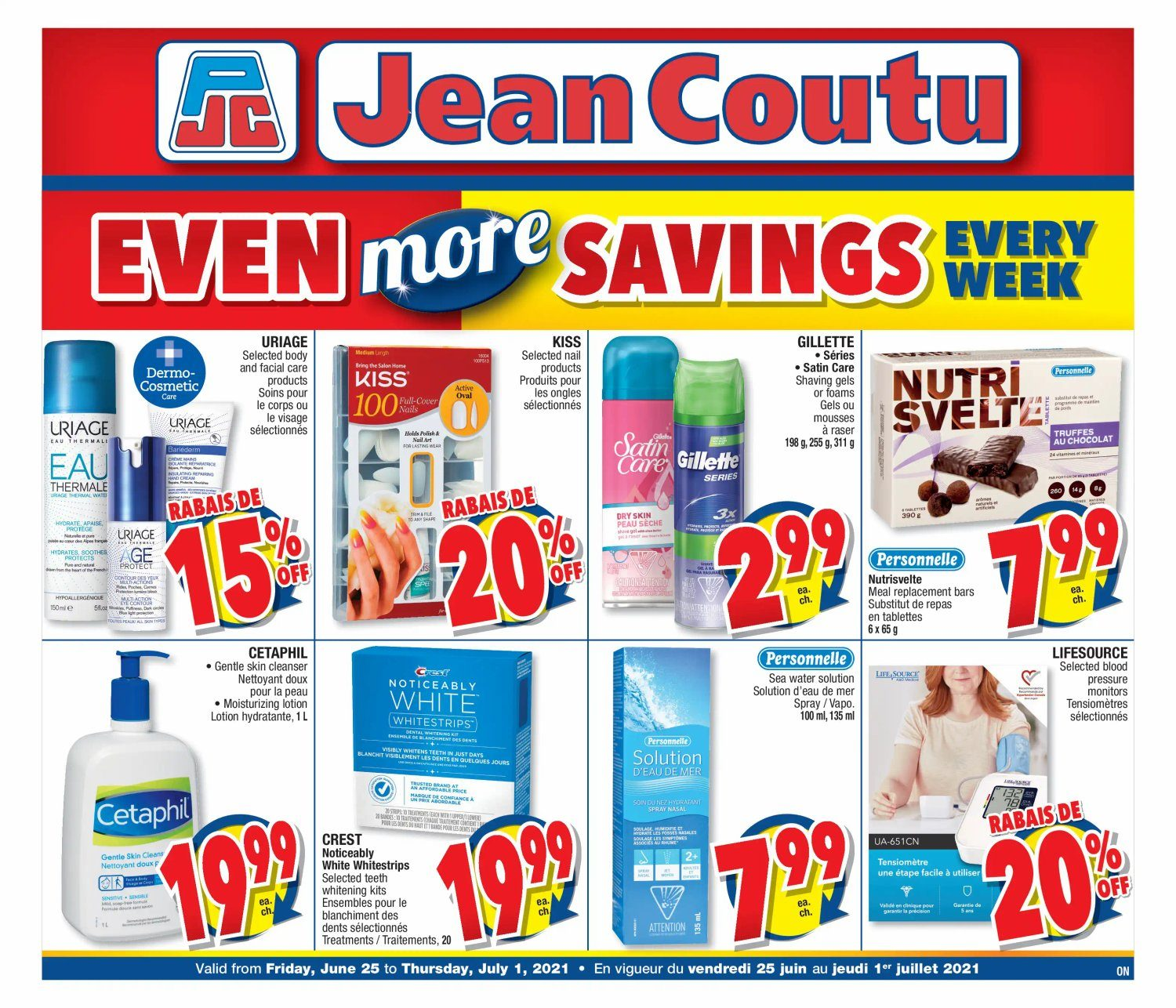 Jean Coutu - Even More Savings - Weekly Flyer Specials