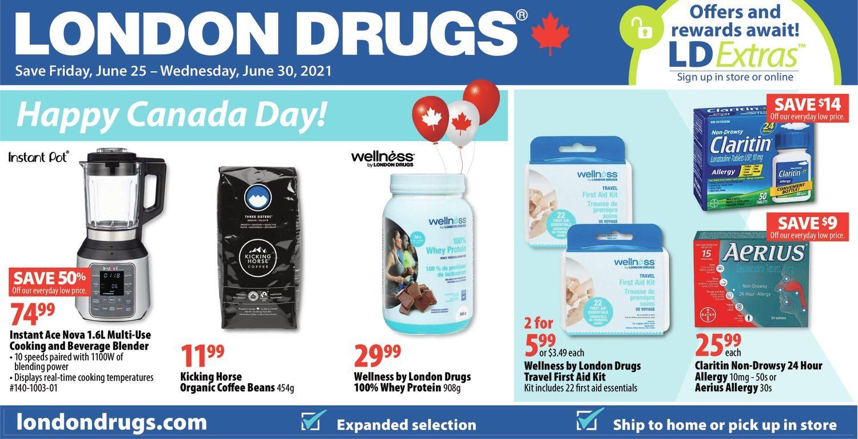 London Drugs - Happy Canada Day!