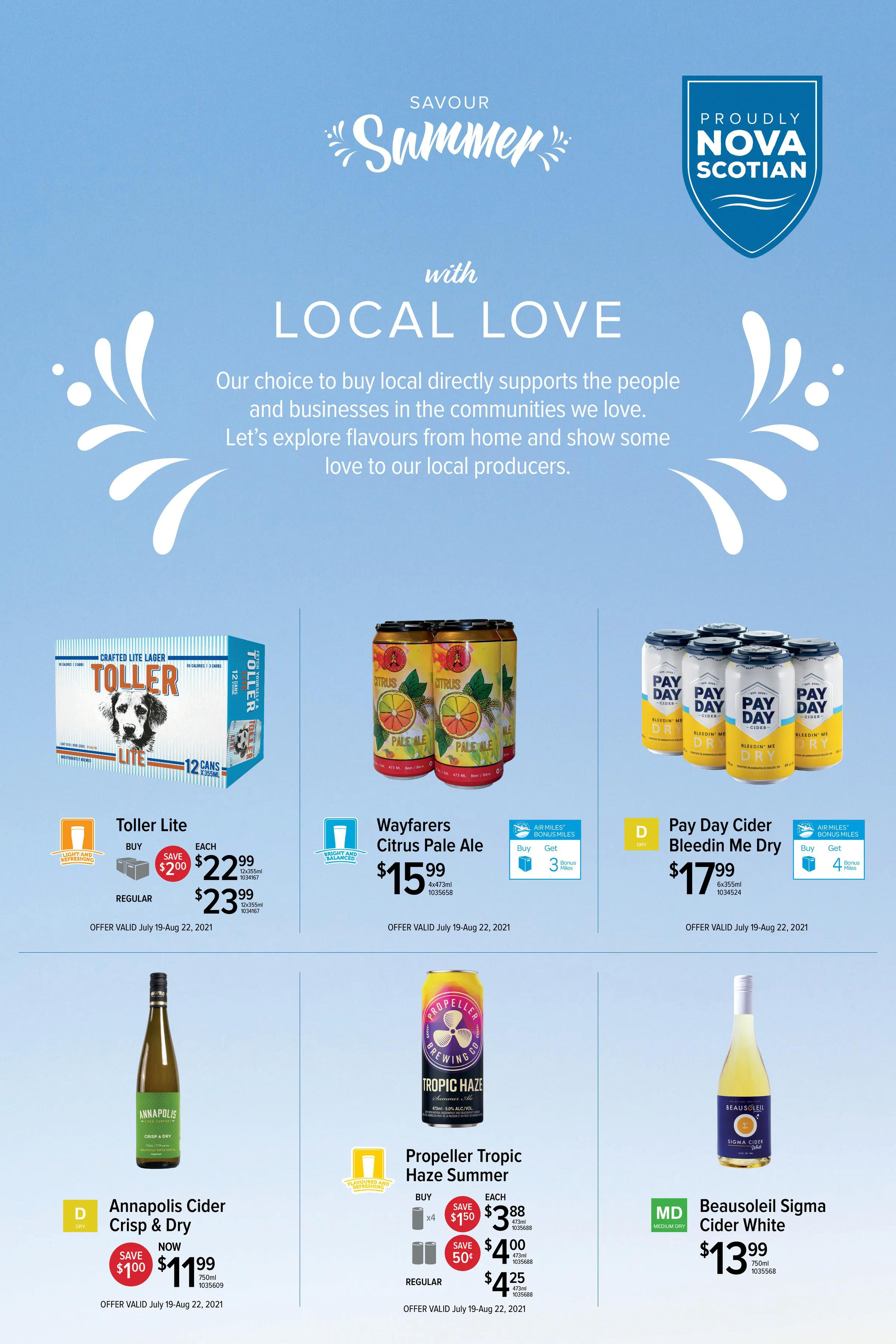 NSLC Flyer from july 18 to august 22 2021 - Page 7